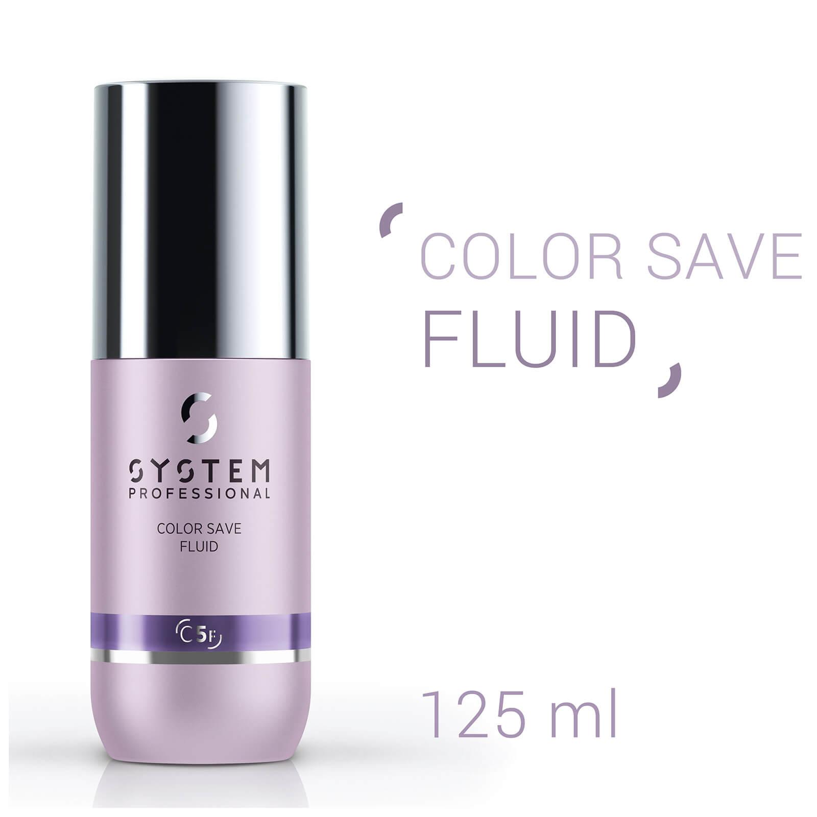System Professional Réhausseur de brillance pour cheveux colorés Color Save Fluid System Professional 125 ml