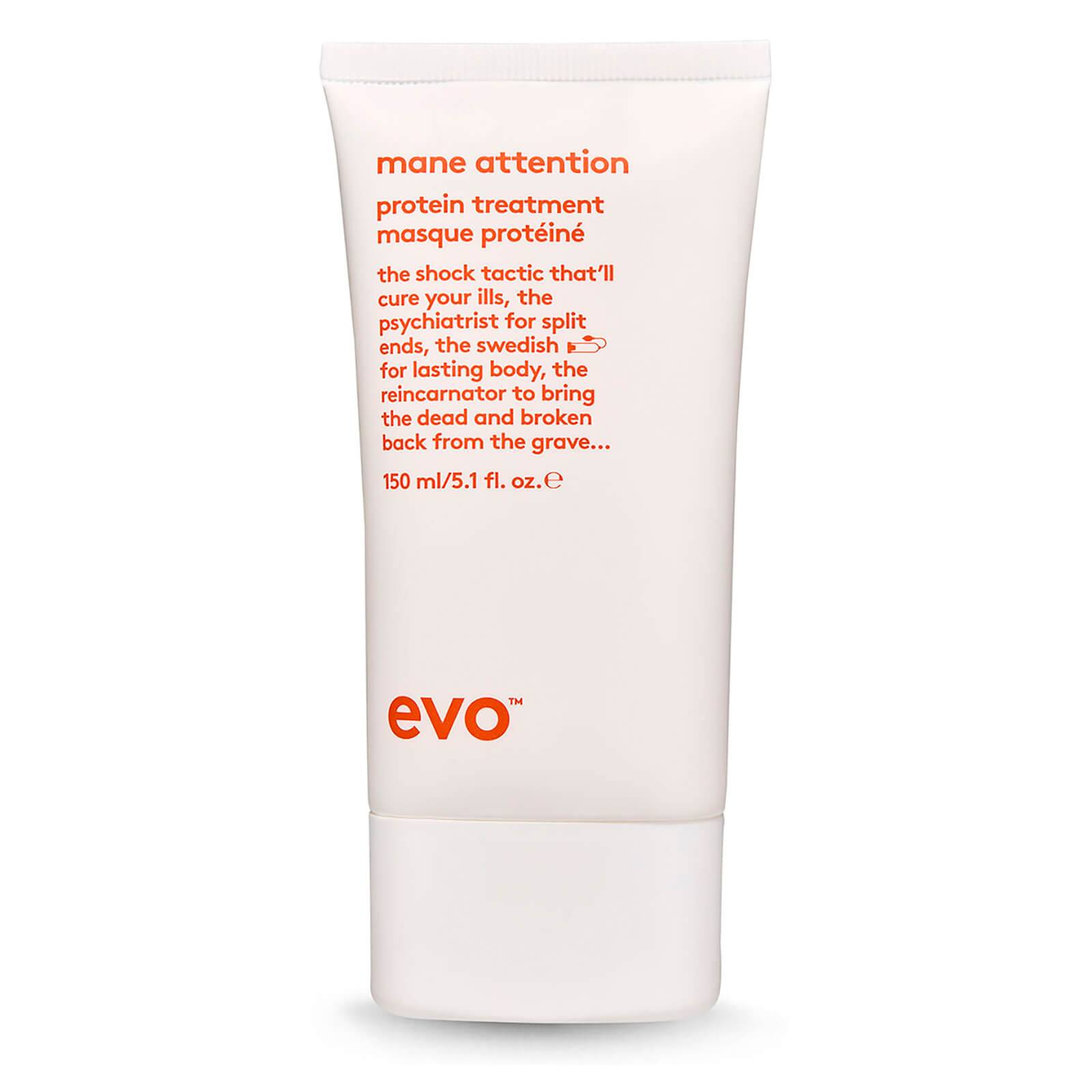 Evo Traitement Reconstructeur Pour les Cheveux aux Protéines Attention Protein Treatment Evo Mane 150ml