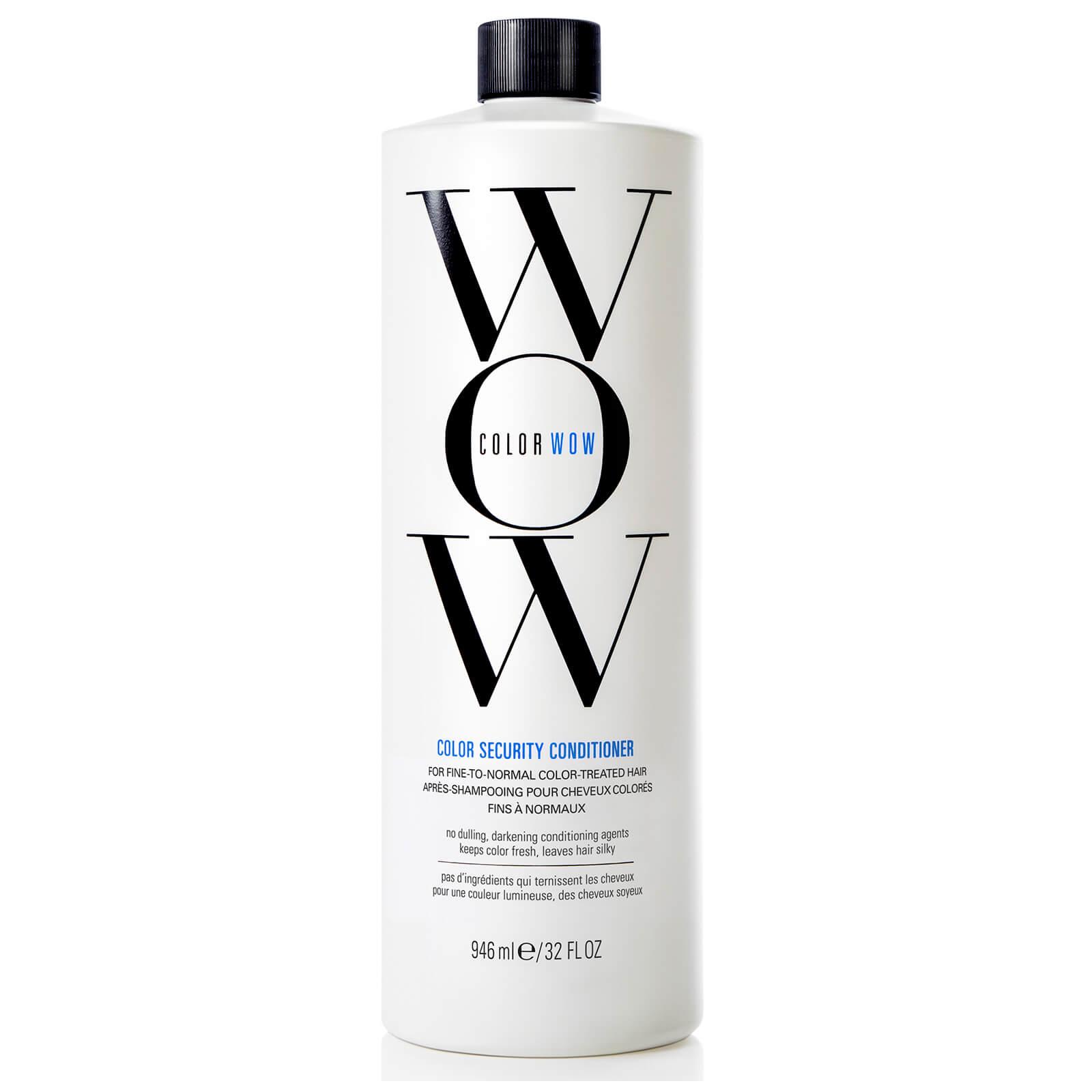 Color WOW Après-Shampooing pour Cheveux Colorés Color Security Color WOW 1000ml – Cheveux Fins à Normaux