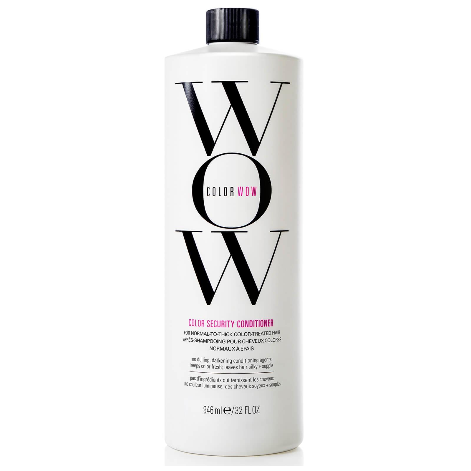 Color WOW Après-Shampooing pour Cheveux Colorés Color Security Color WOW 1000ml – Cheveux Normaux à Épais