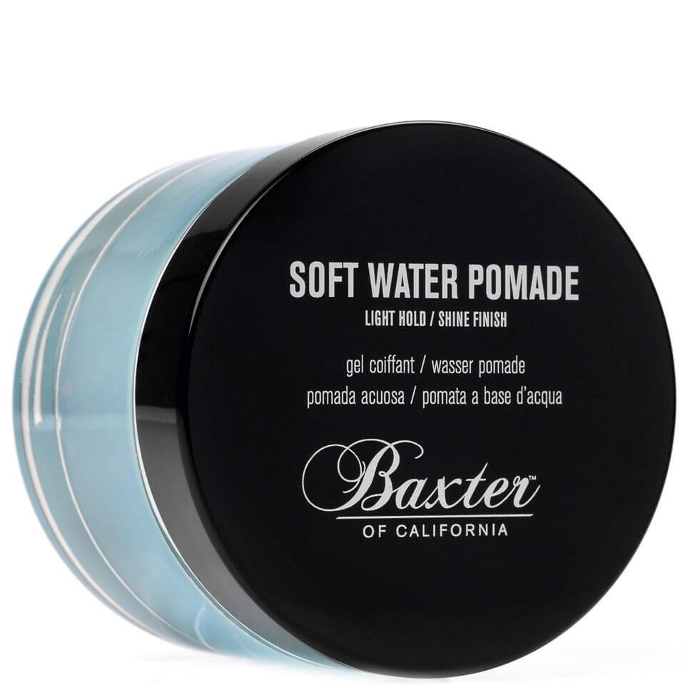 Baxter of California Gel coiffant tenue faible et finition brillante Baxter of California Soft Water Pomade 60ml