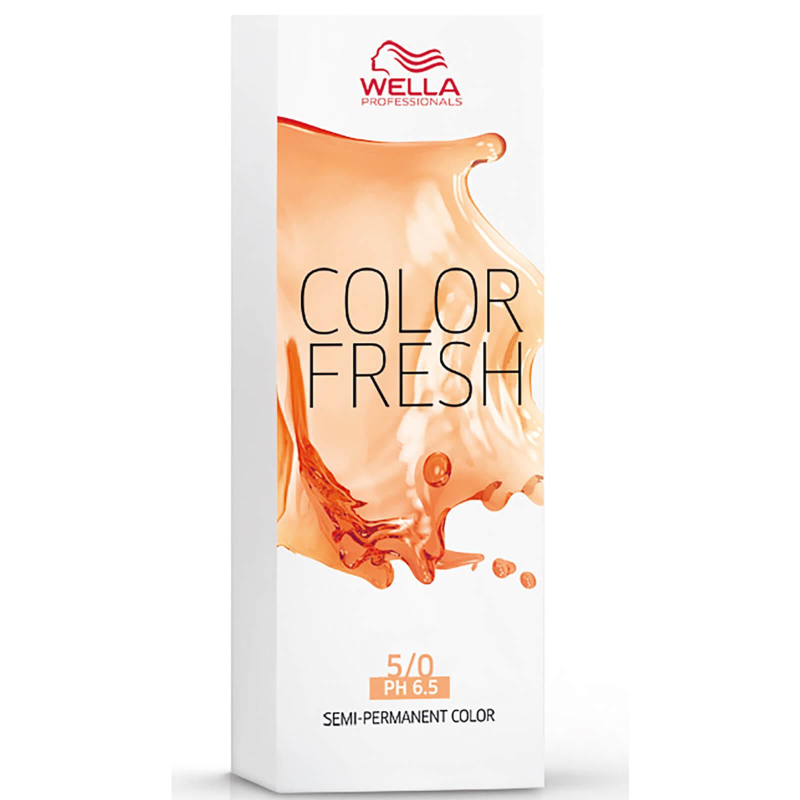 Wella Color Freshchâtain clair Wella5/07 (75 ml)