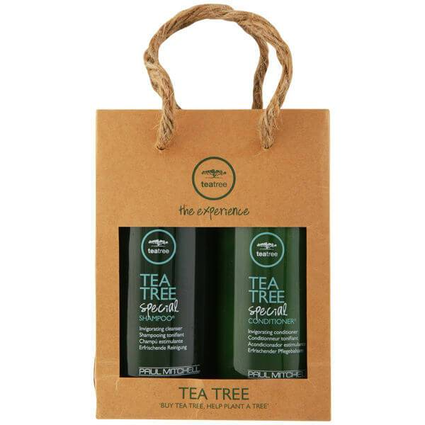 Paul Mitchell Pack shampooing et après-shampooing tonifiants PAUL MITCHELL GREEN TEA TREE BONUS BAG (2 produits)