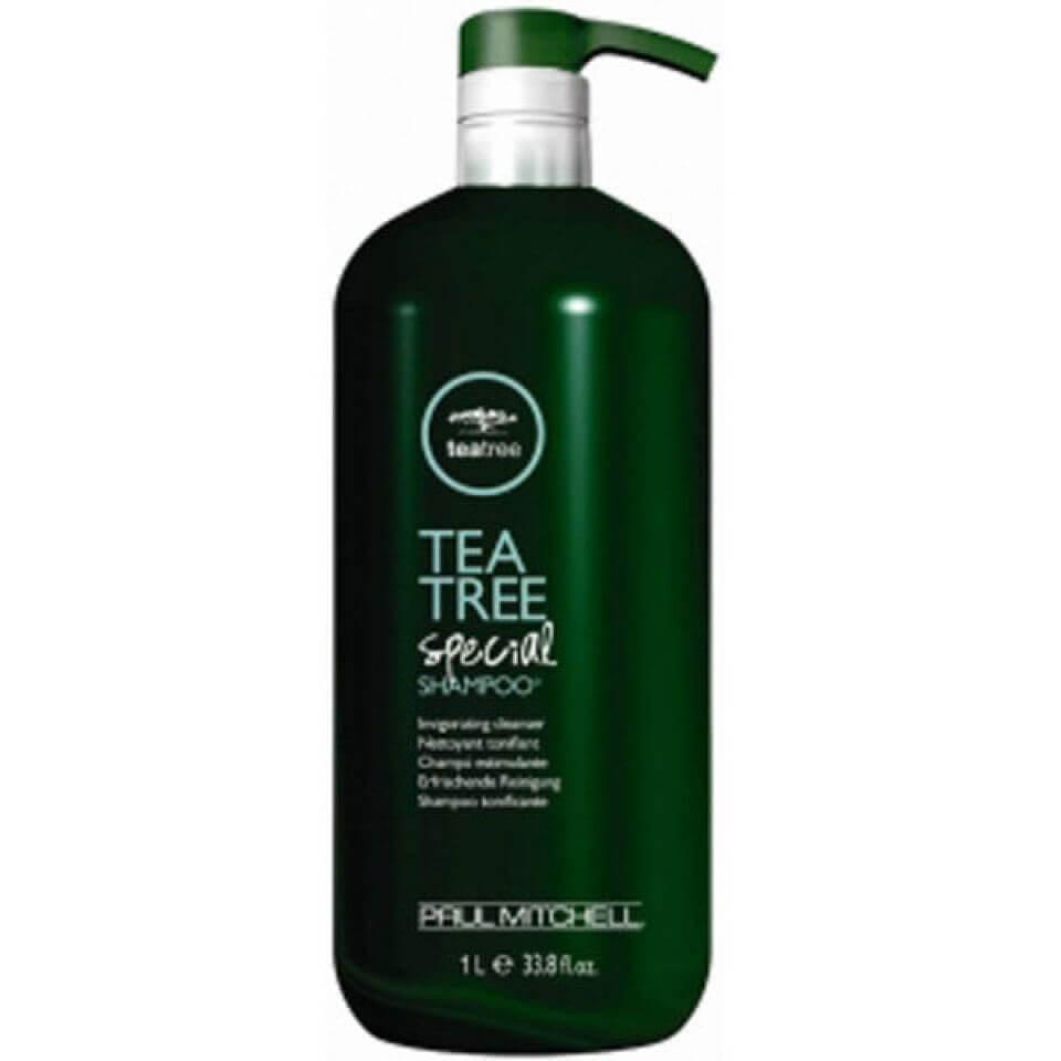 Paul Mitchell Shampoing Spécial arbre à thé (1000ml) avec pompe (lot)