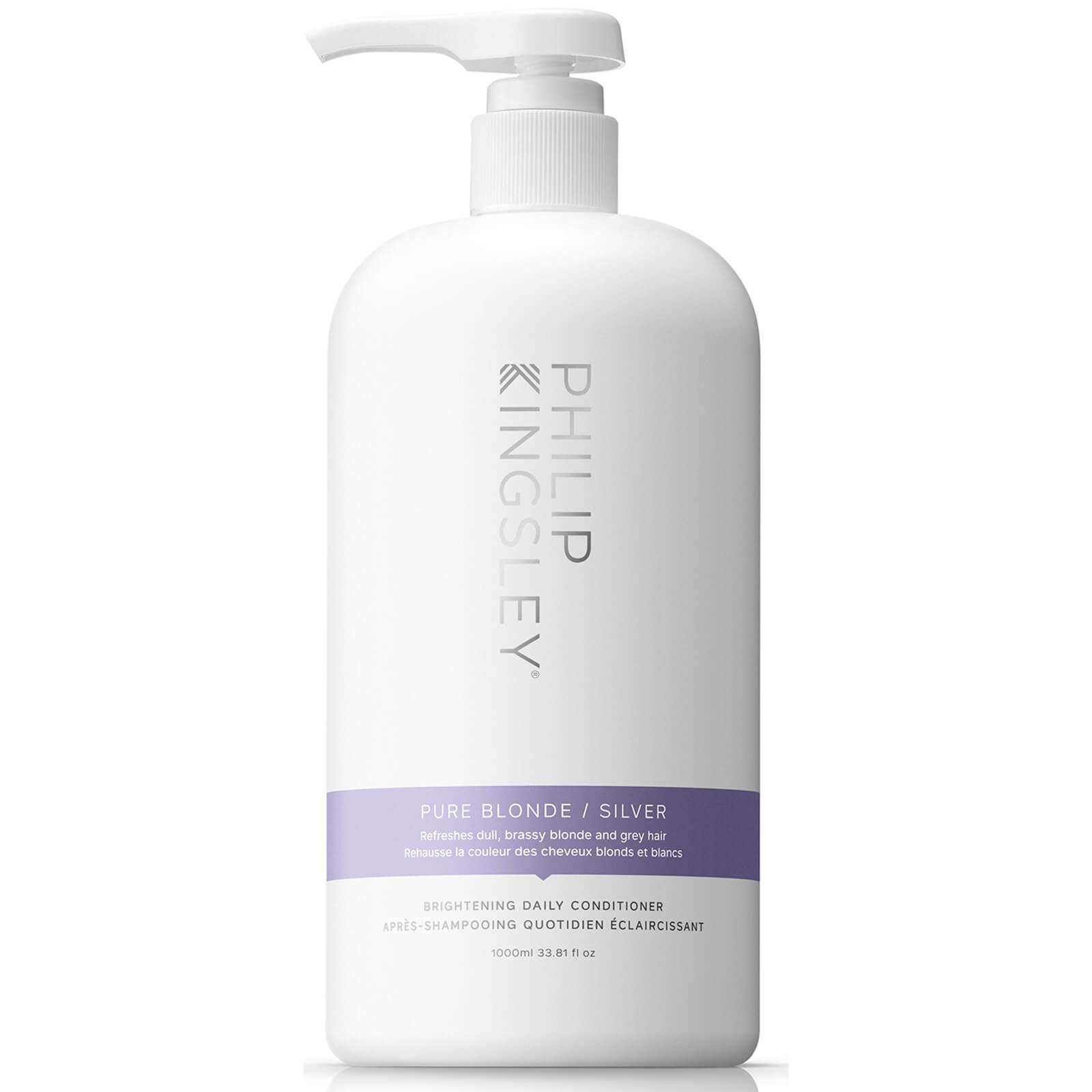 Philip Kingsley Pure Silver après-shampooing cheveux gris (1000ml)