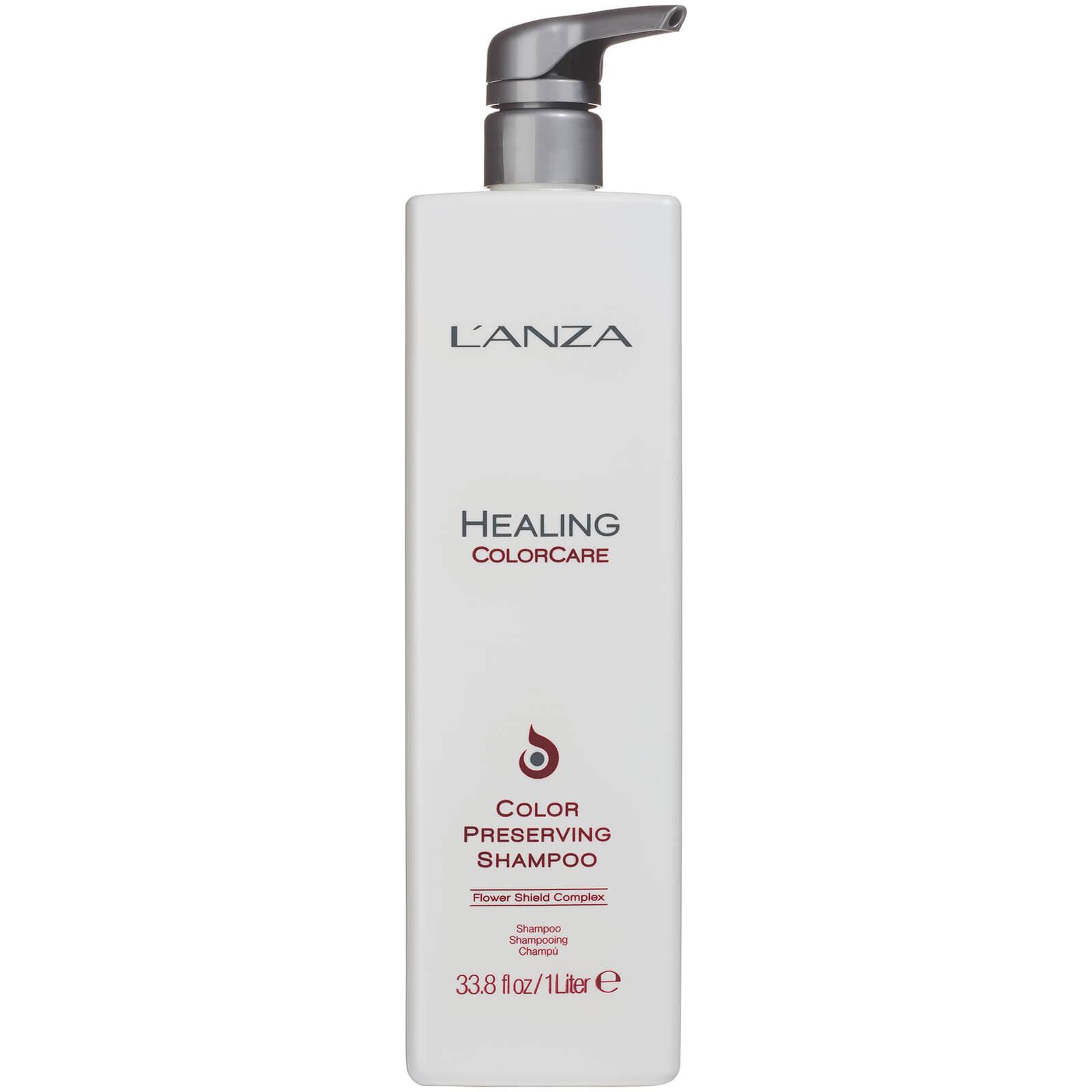 L'Anza Shampooing pour cheveux colorés  Healing Colorcare  de L'Anza (1 litre) - (valeur : 87€)