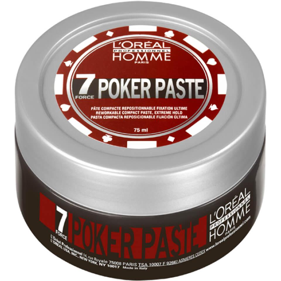 LOréal Professionnel Pâte modelante L'Oreal Professional Homme Poker (75ml)
