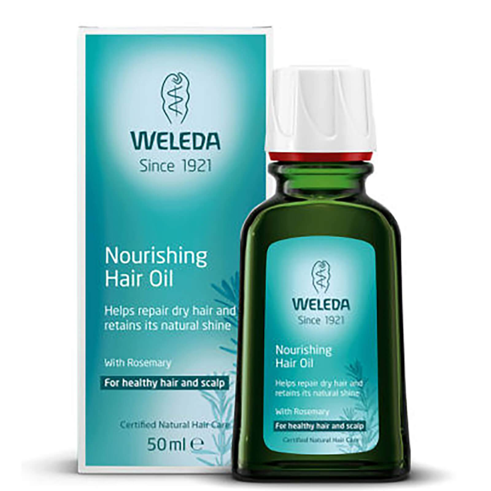 Weleda Huile capillaire au romarin de Weleda (50 ml)
