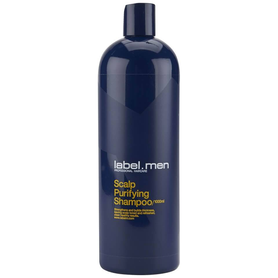 Label.men shampoing purifiant (1000ml)