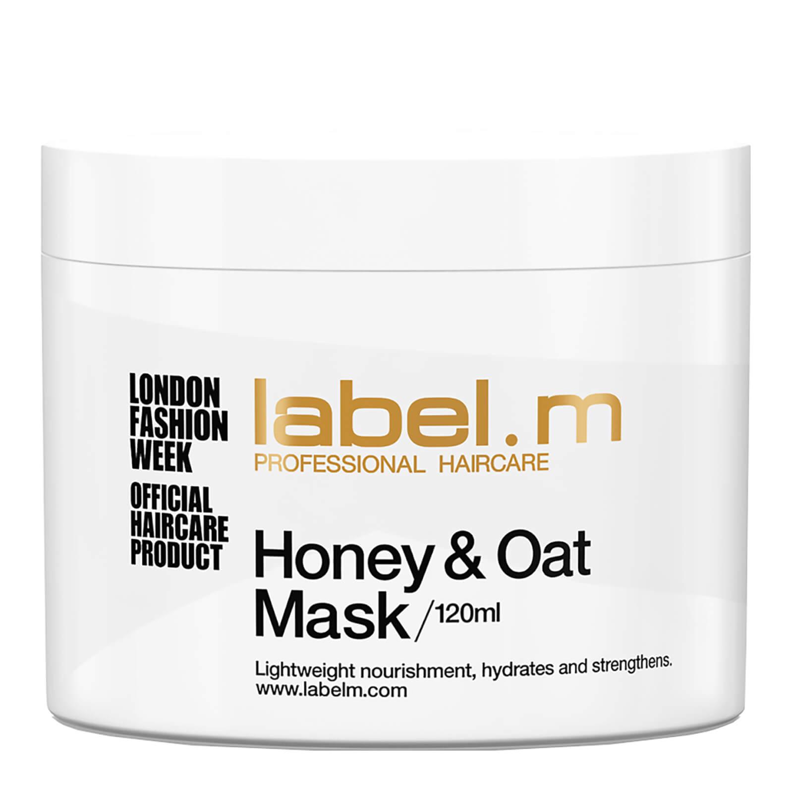 label.m Masque traitement au miel et a l'avoine (120ml)