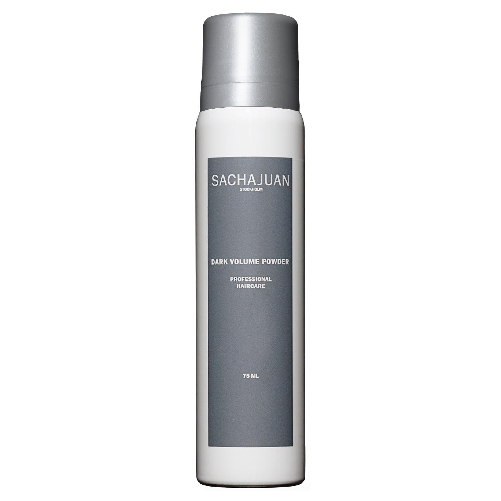 Sachajuan Shampooing sec Volumateur Cheveux Foncés « Dark Volume Powder » Sachajuan Format voyage 75 ml