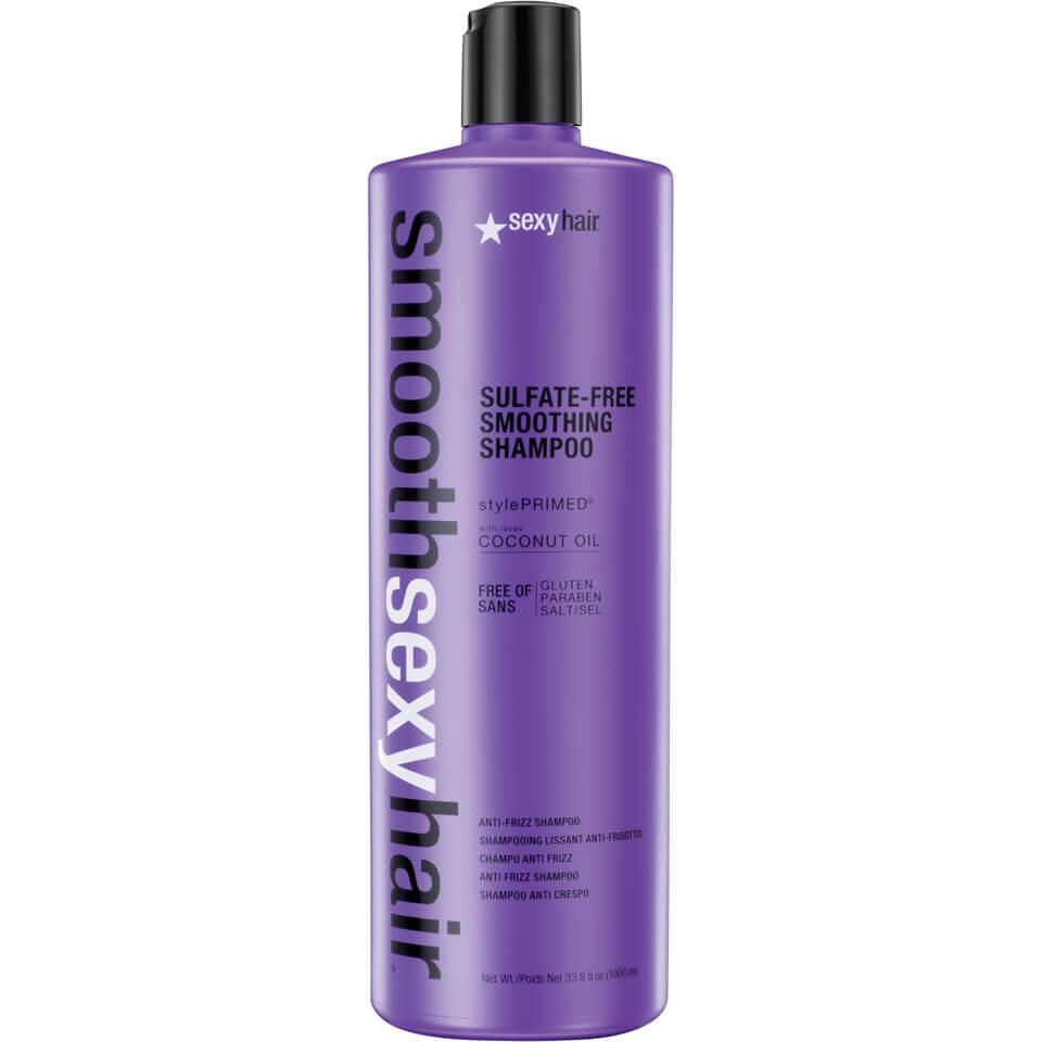 Sexy Hair Smooth Anti-Frizz Shampoo 1000 ml