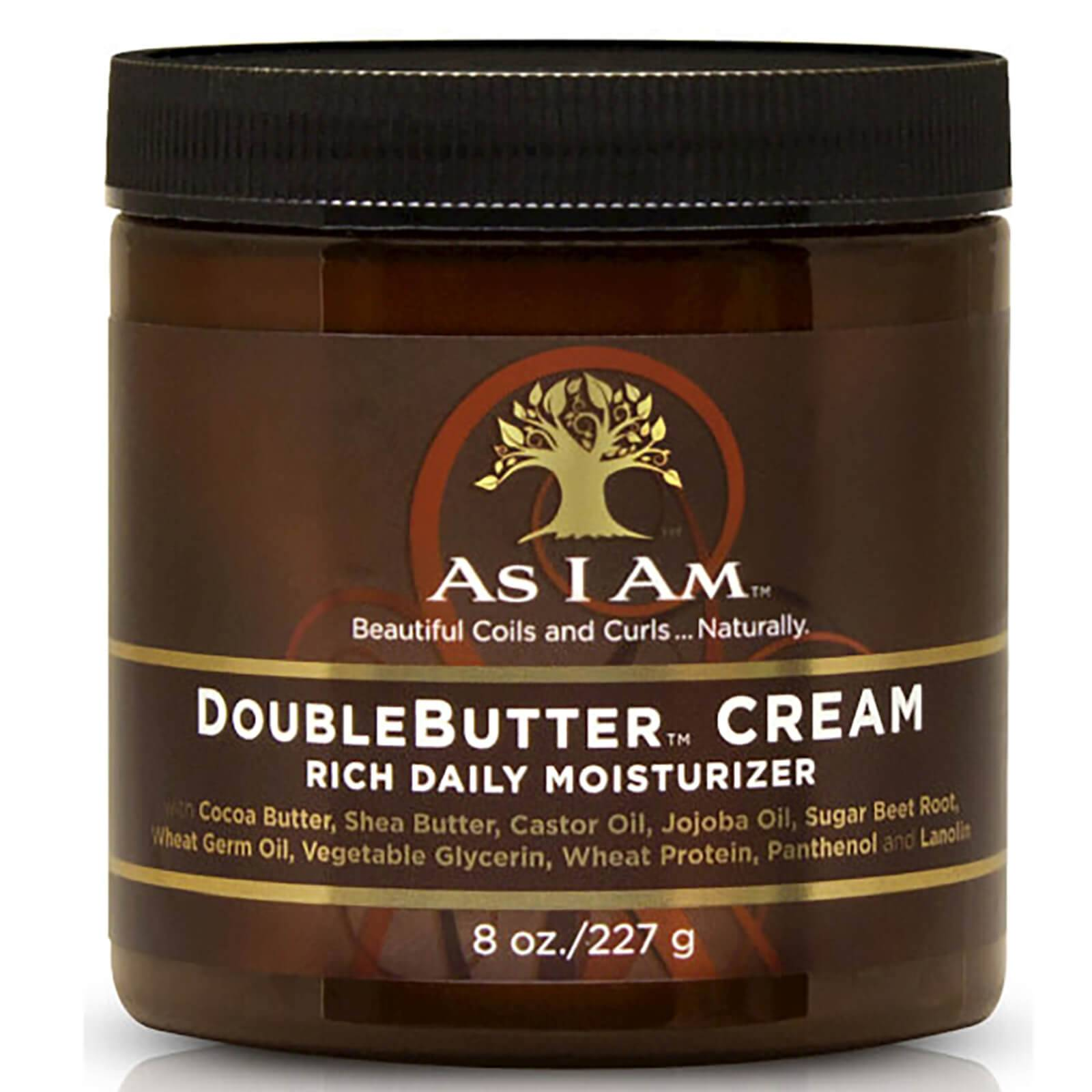 As I Am Crème hydratante quotidienne DoubleButter™ d'As I Am (227 g)