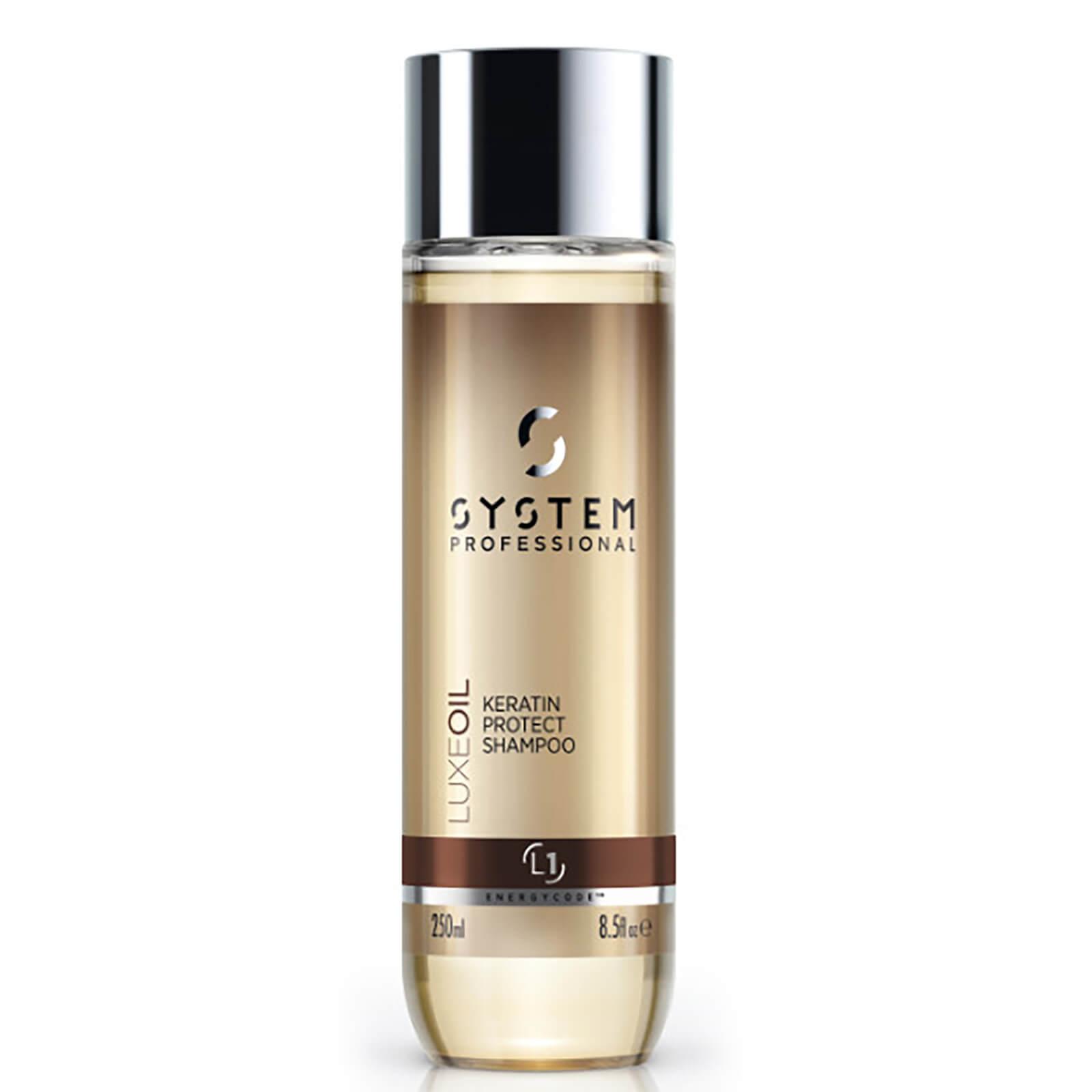 System Professional Shampooing Protecteur à la Kératine Luxe Oil System Professional 250 ml