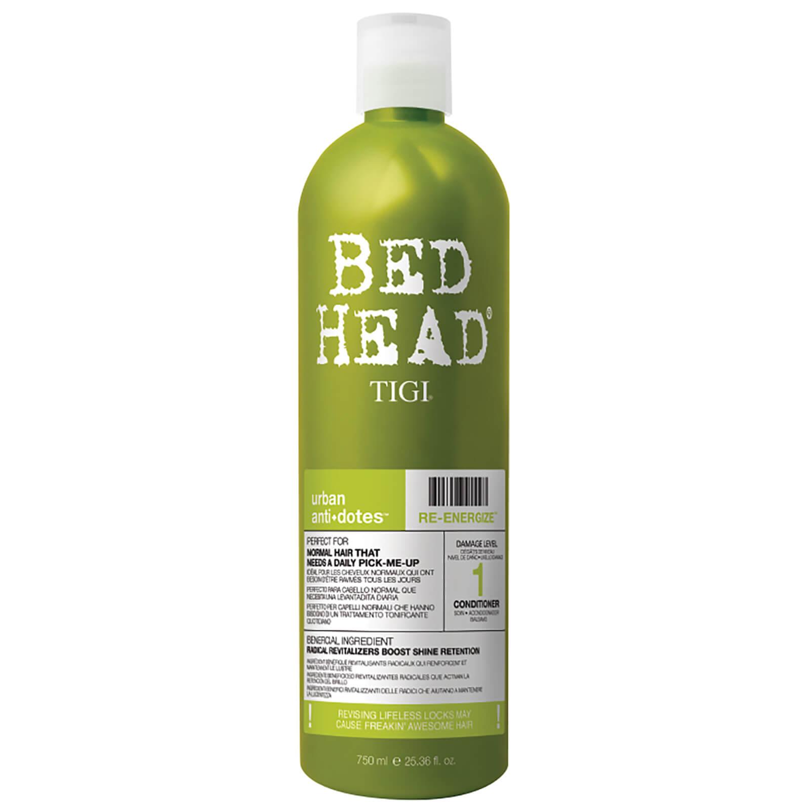 TIGI Après-shampooing quotidien pour cheveux normaux Urban Antidotes Re-energize TIGI Bed Head 750ml