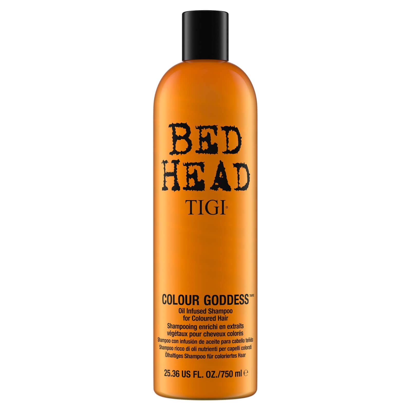 TIGI Shampooing enrichi en extraits végétaux pour cheveux colorés Colour Goddess TIGI Bed Head 750ml