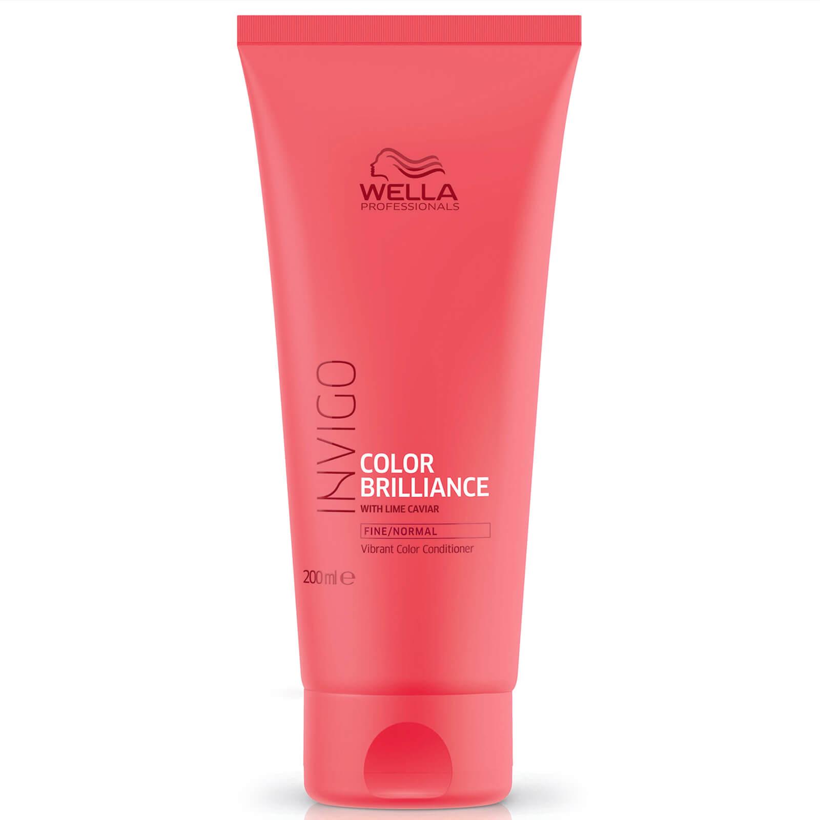 Wella Professionals Care Après-shampooing pour cheveux fins INVIGO Color Brilliance Wella Professionals 200ml