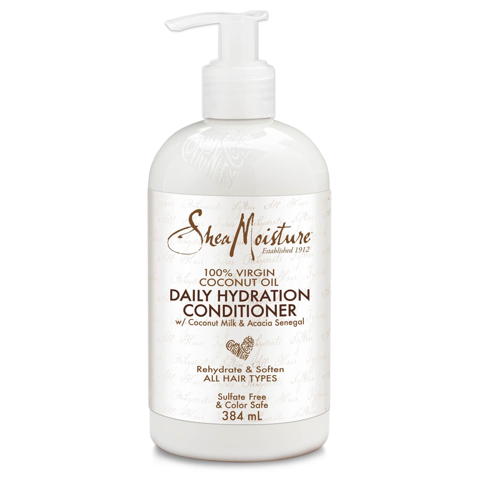 Shea Moisture Après-shampooing hydratation quotidienne à l'huile de noix de coco 100% vierge Shea Moisture 384ml