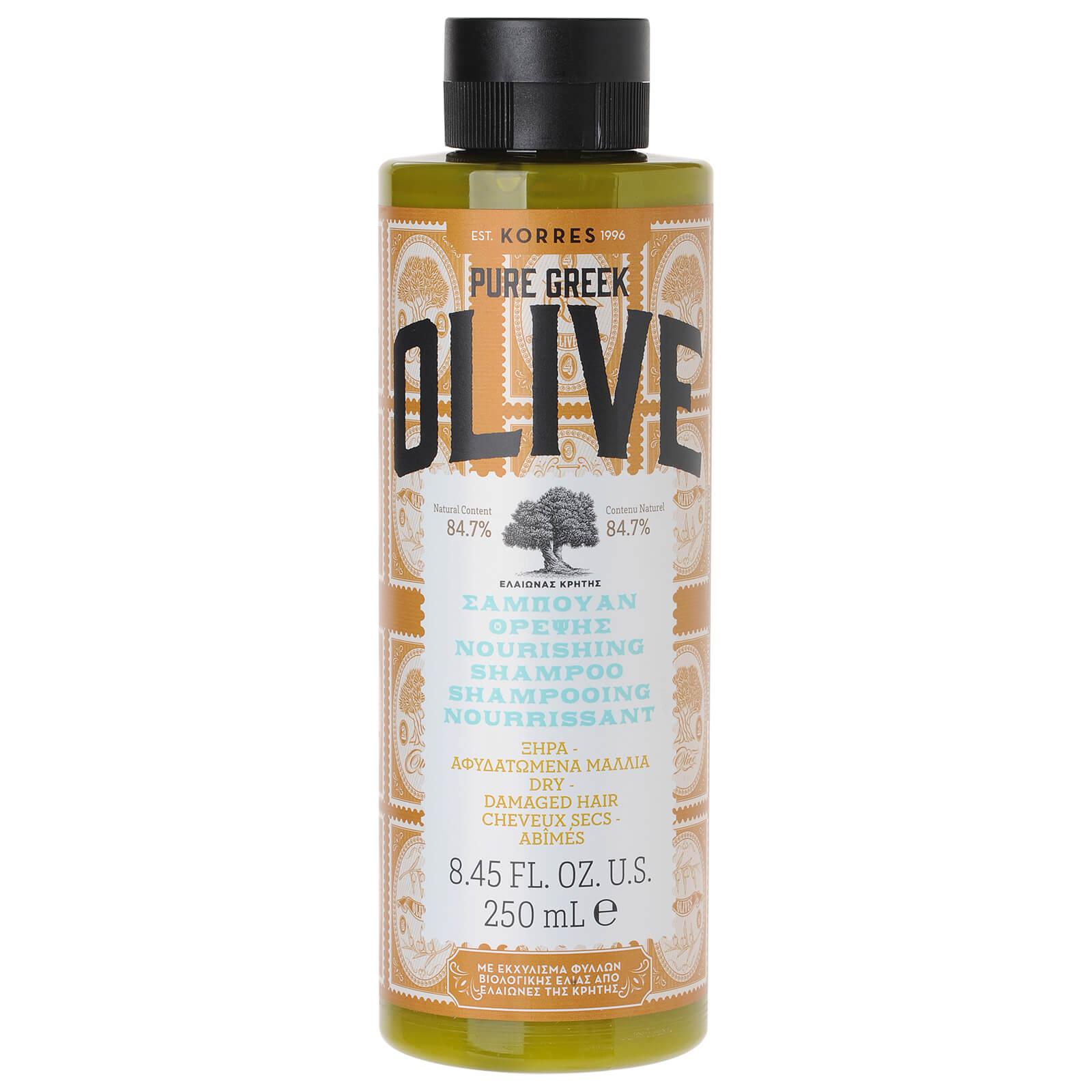 KORRES Shampooing Nourrissant Cheveux secs/abîmés Pure Greek Olive KORRES 250ml