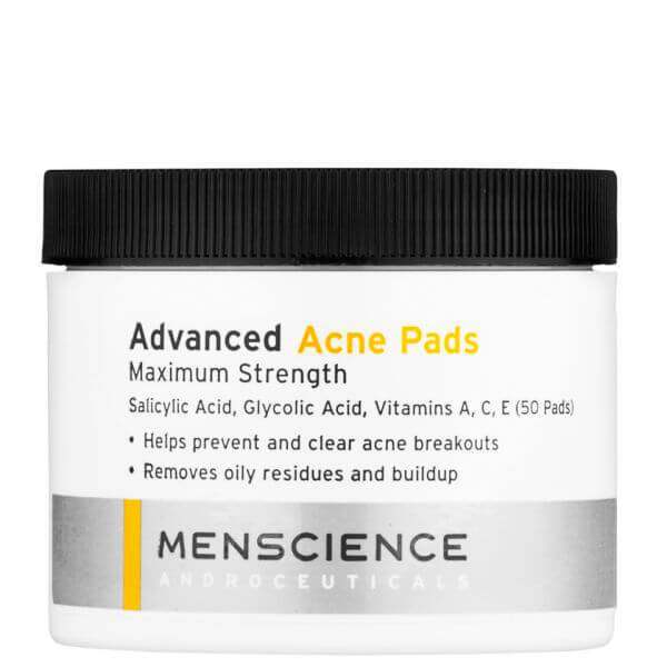 MenScience Advanced Acne Pads de Menscience (50 tampons)