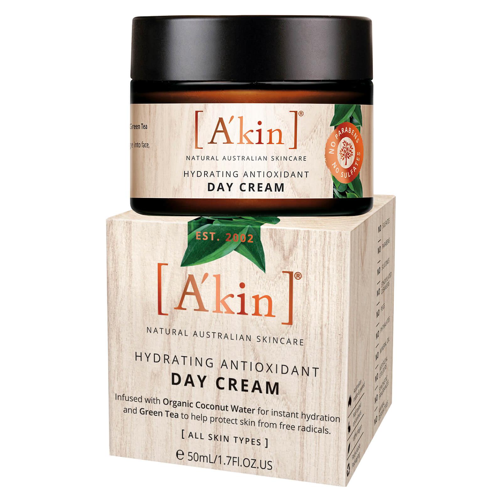 A'Kin Rose De Mai Crème de jour anti-oxydante (50ml)