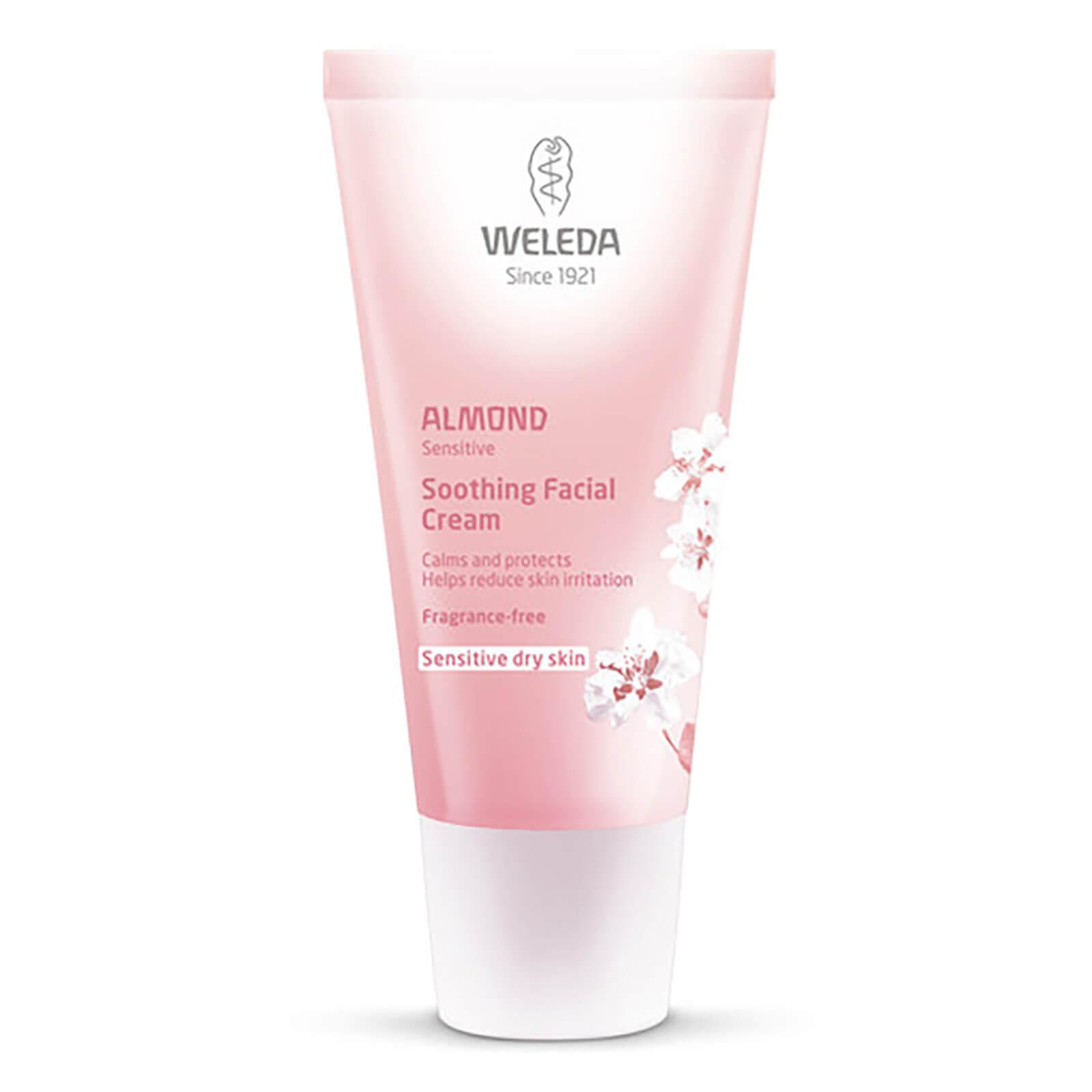 Weleda Crème visage apaisante à l'amande Weleda(30 ml)