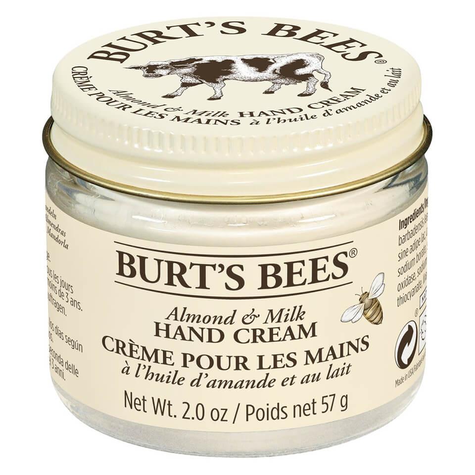 Burt's Bees Crème pour les mains lait et amande Burt's Bees 57 g