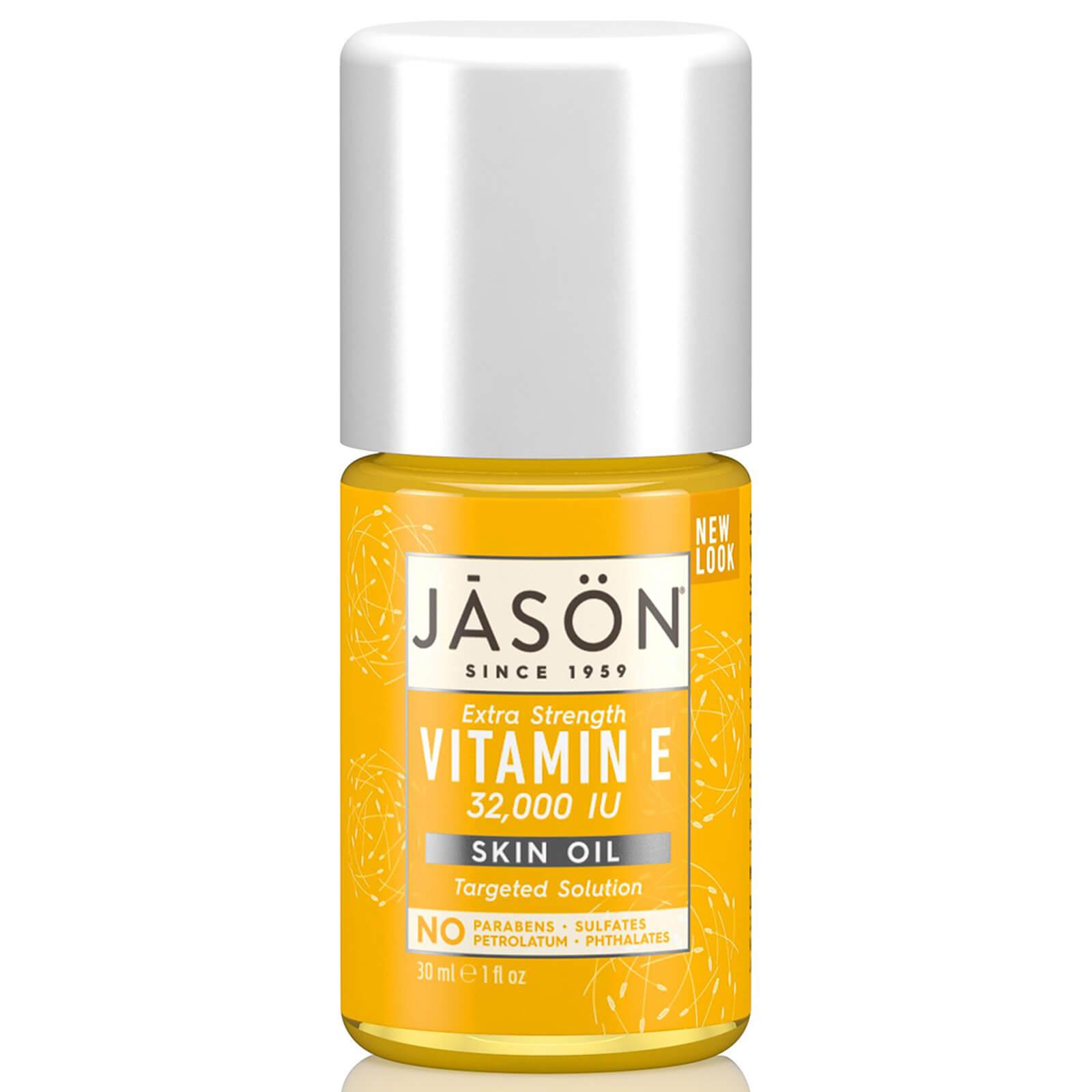 JASON Huile JASON Vitamine E 32,000iu - Traitement contre les cicatrices et les vergetures 30ml