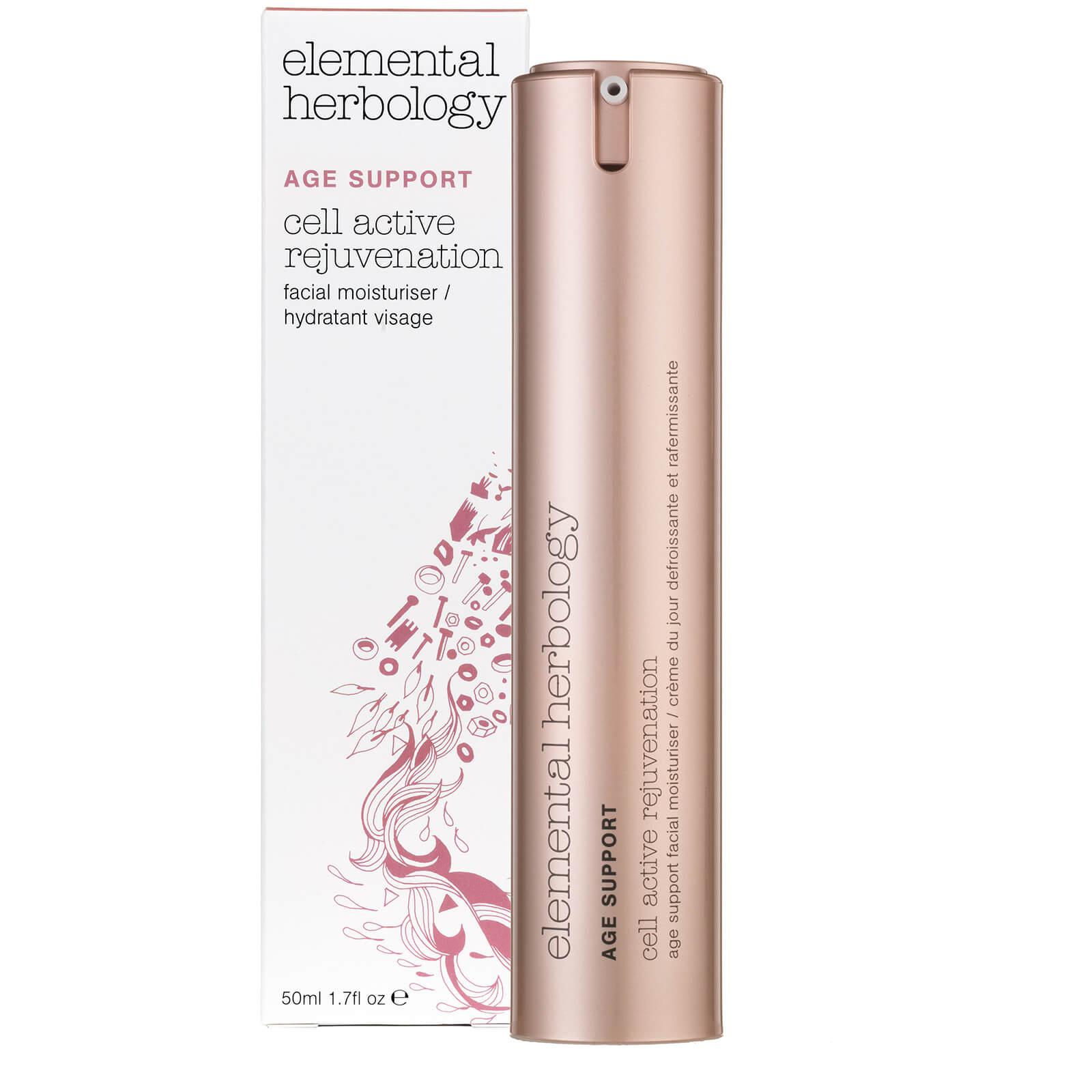 Elemental Herbology Crème de jour pour le visage « Cell Active Rejuvenation » Age Support Elemental Herbology - 50 ml