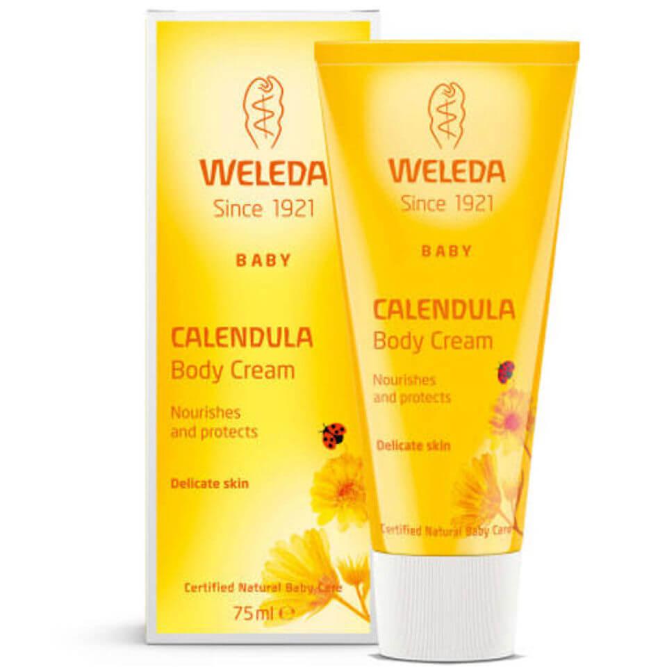 Weleda Crème pour le corps hydratante au calendula pour bébé de Weleda(75ml)