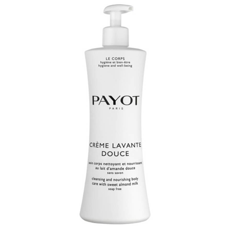 PAYOT Crème Lavante Douce Soin Corps Nettoyant et Nourrissant au lait d'amande douce (400ml)