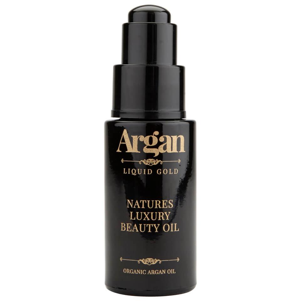 Argan Liquid Gold Huile de beauté luxe nature Or liquide Argan 30 ml