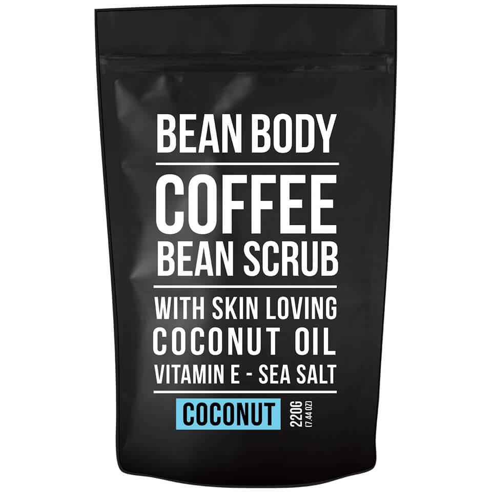 Bean Body Gommage aux grains de café Bean Body 220 g - noix de coco