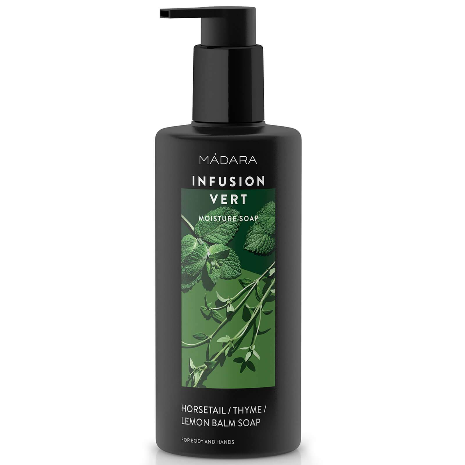 MADARA Savon Hydratant Infusion Vert (prêle, thym et mélisse) MÁDARA 300 ml
