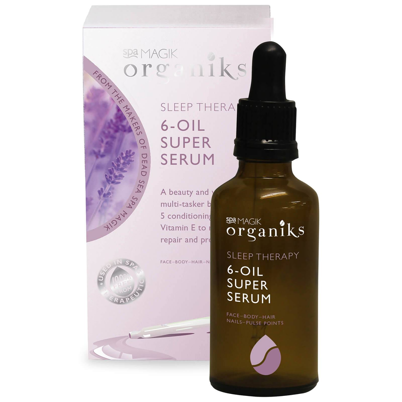 Sea Magik Sérum super apaisant aux 6 huiles essentielles Sleep Therapy 6-Oil Super Serum Spa Magik Organiks