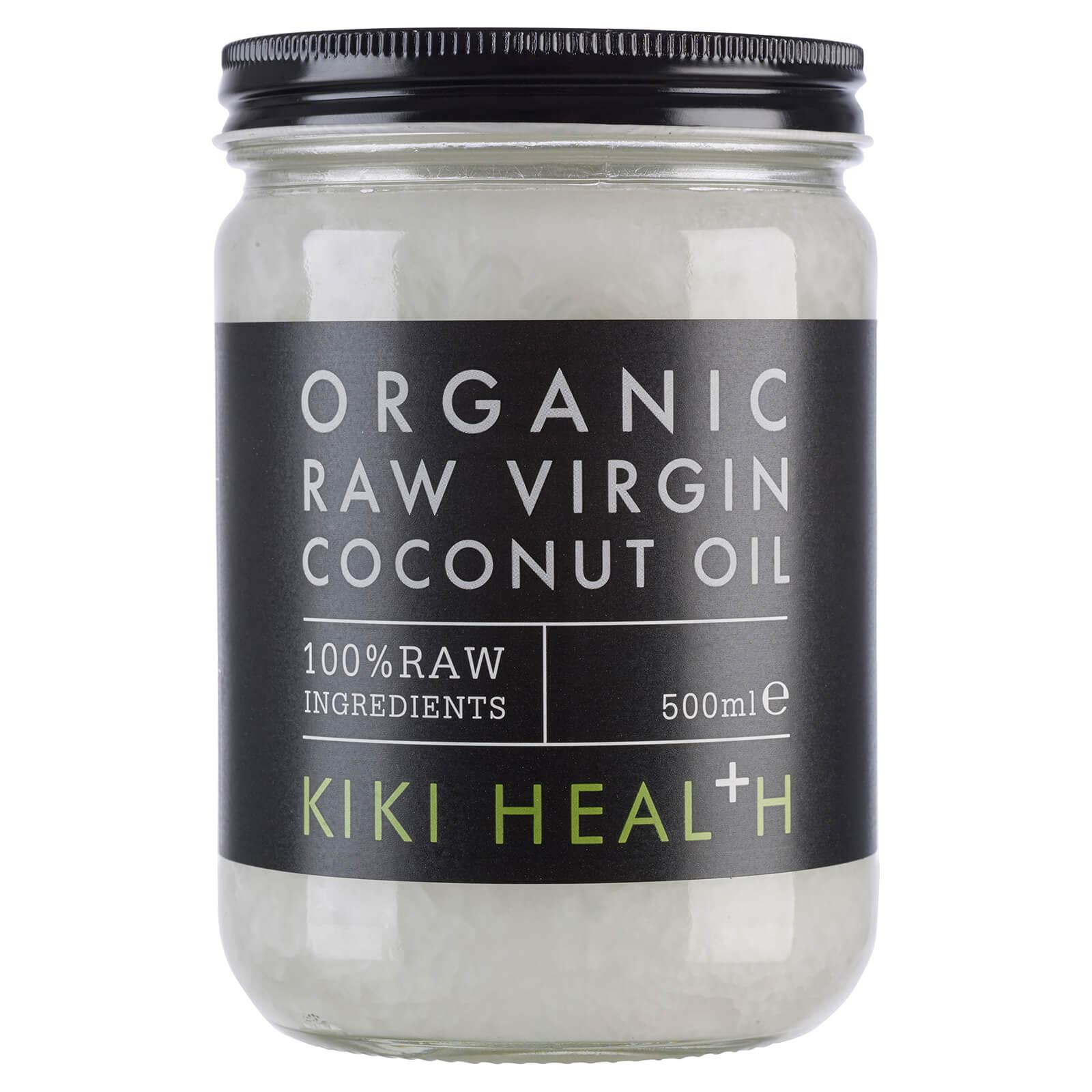 KIKI Health Huile de Noix de Coco Vierge Biologique Brute KIKI Health 500 ml
