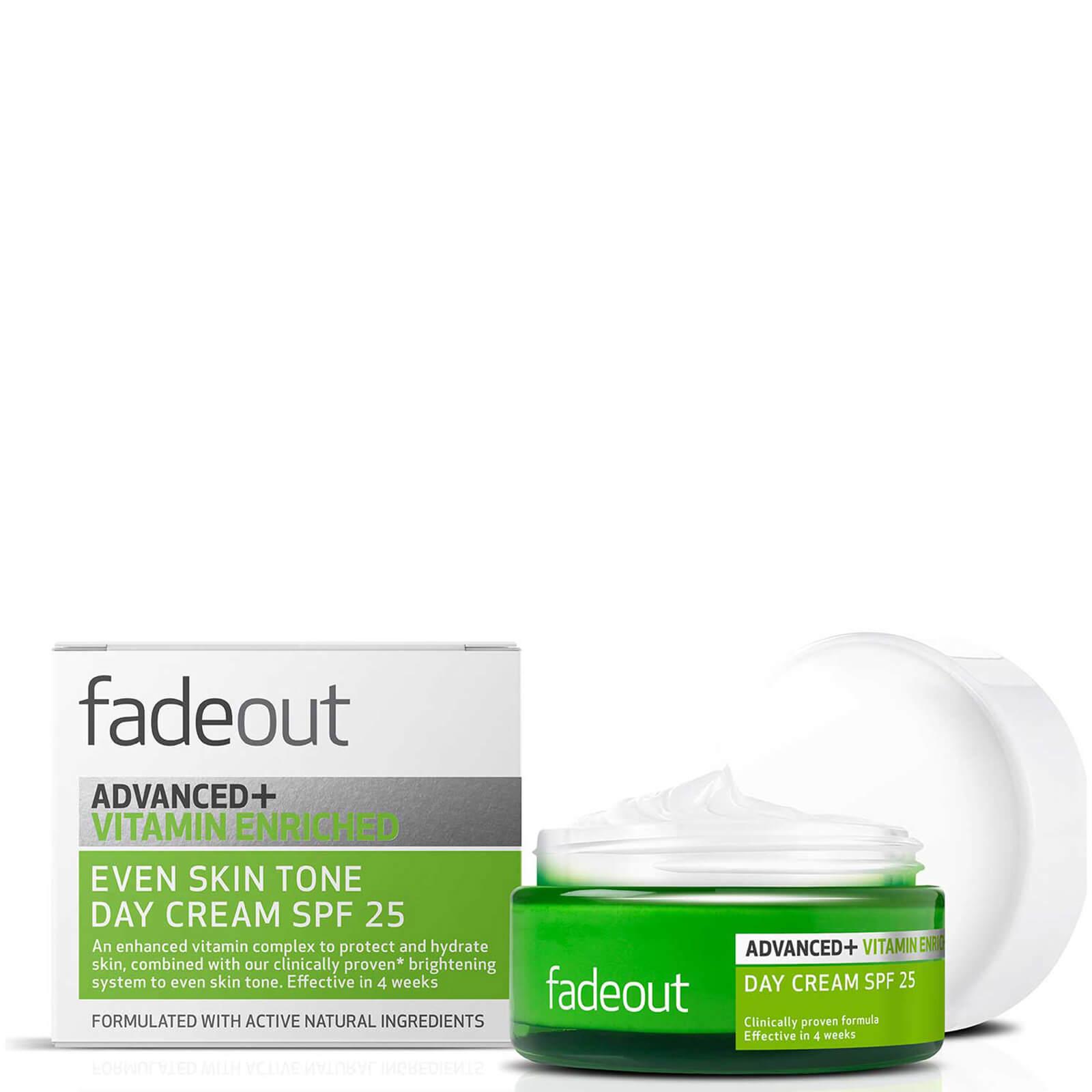 Fade Out Crème de Jour Uniformisante SPF 25 Even Skin Tone Day Cream ADVANCED + Vitamin Enriched Fade Out 50 ml