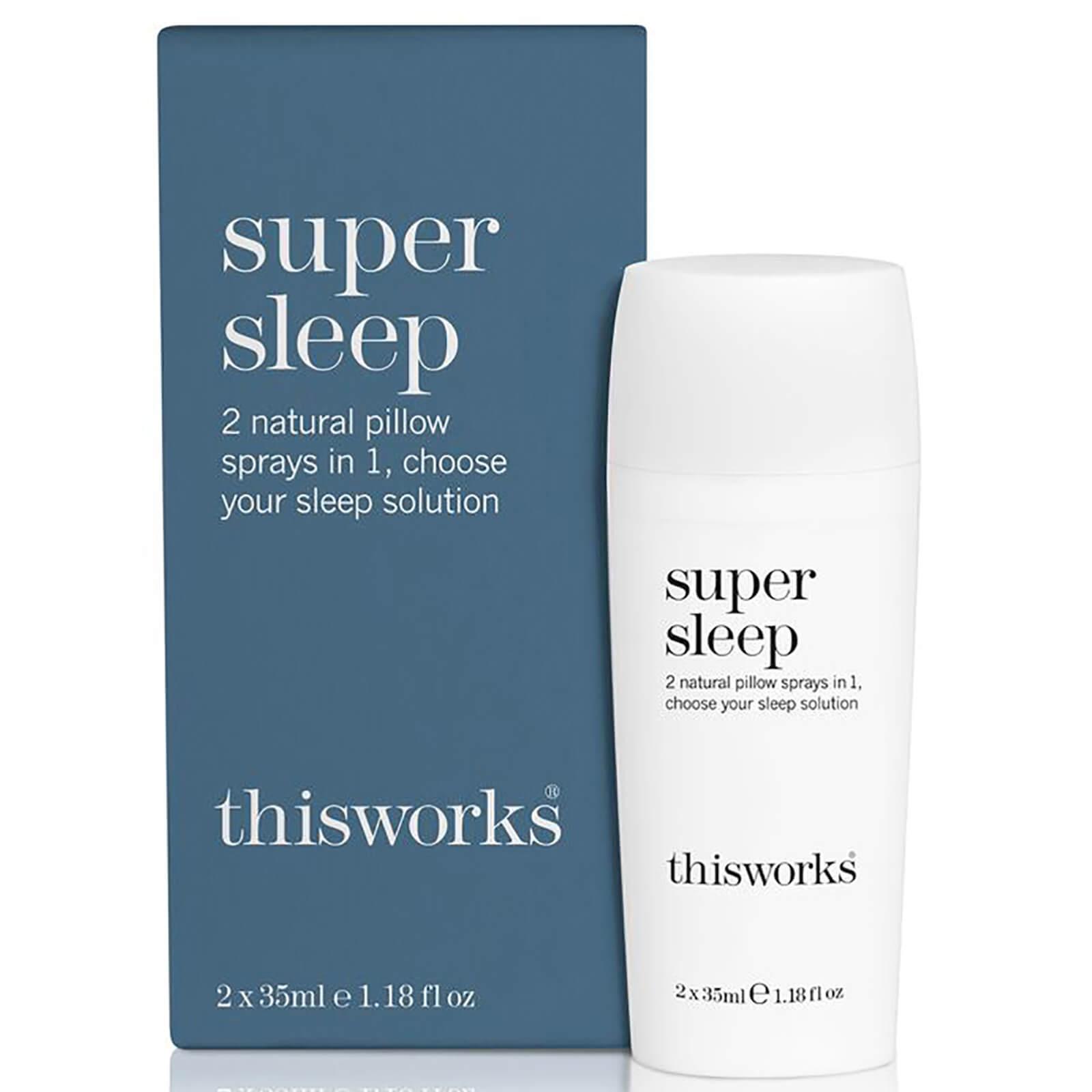 this works Spray 2-en-1Super Sleep this works 2x35 ml