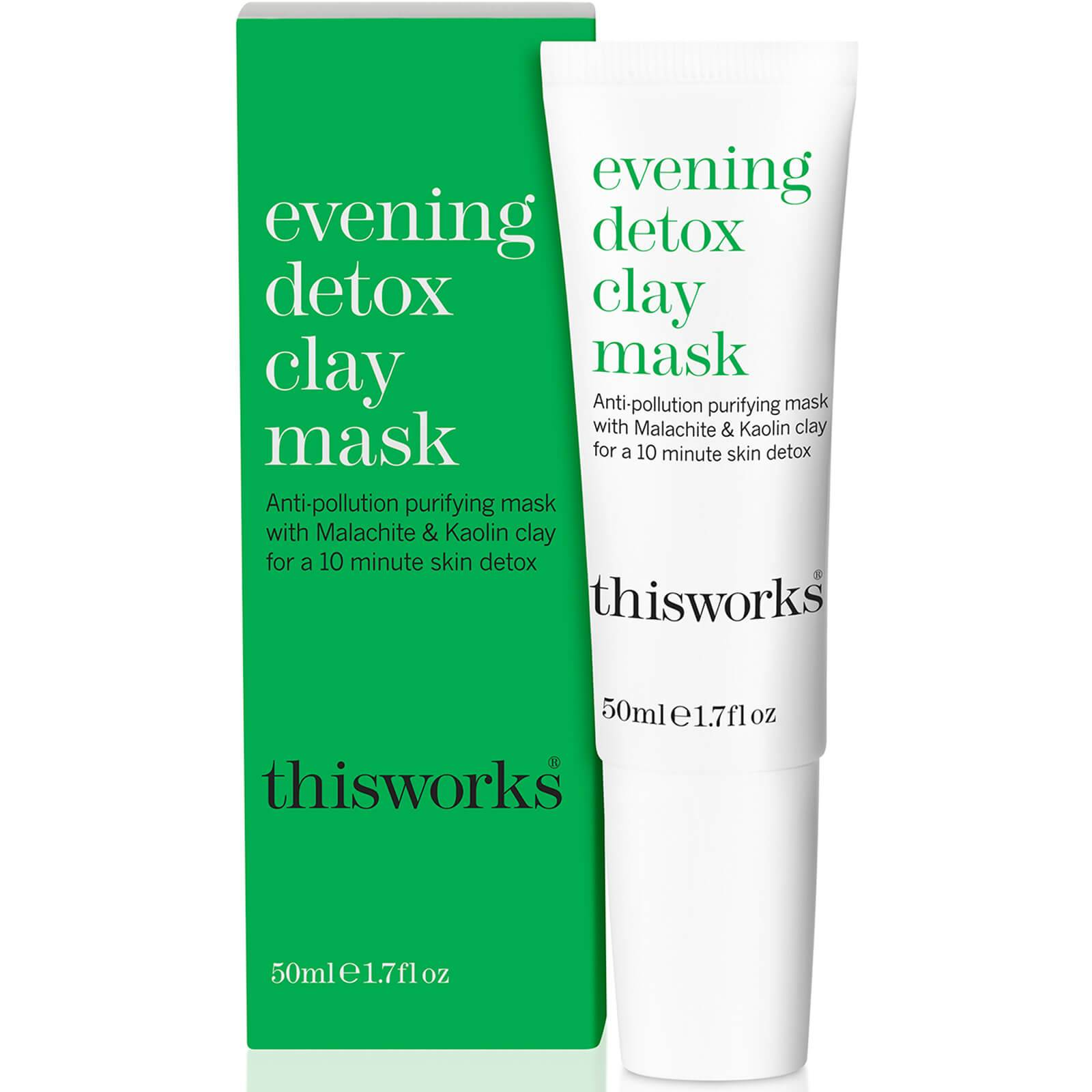 this works Masque Détoxifiant à l'Argile pour le Soir Evening Detox Clay Mask this works 50 ml