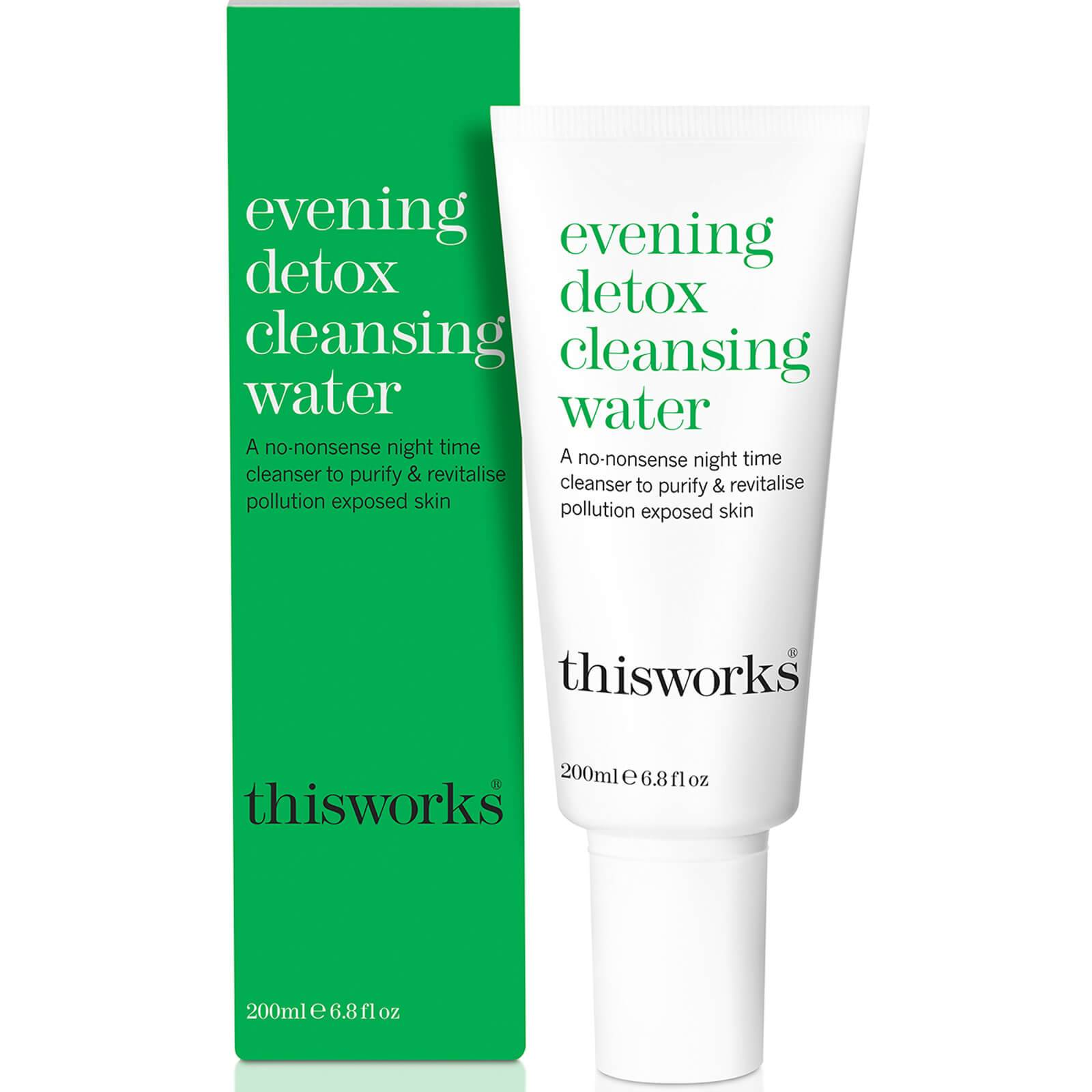 this works Eau Nettoyante Détoxifiante pour le Soir Evening Detox Cleansing Water this works 200 ml