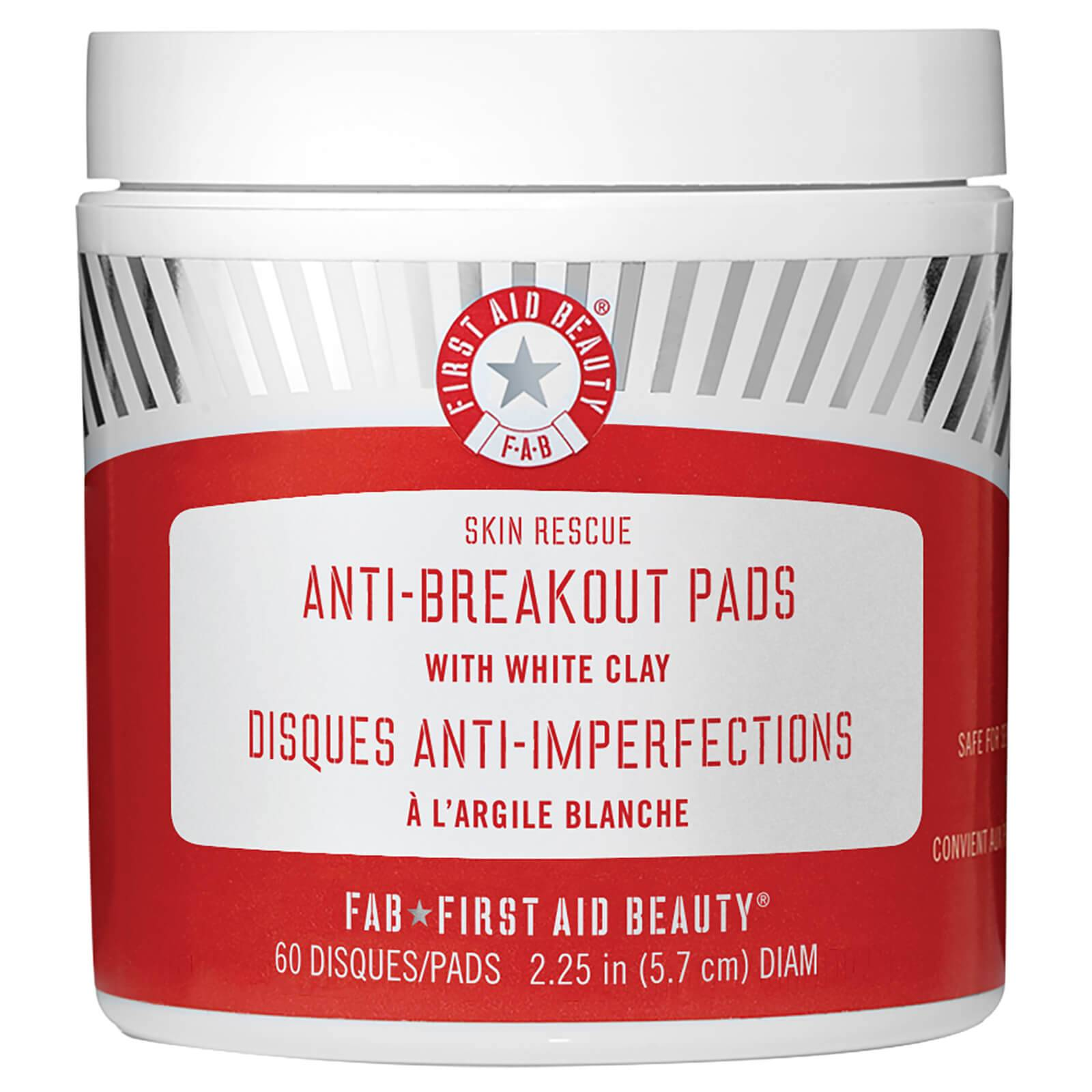 First Aid Beauty Disques Anti-Imperfections à l'Argile Blanche First Aid Beauty
