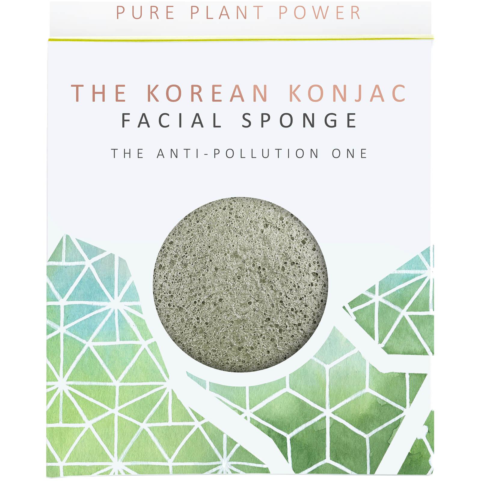 The Konjac Sponge Company Éponge pour le Visage The Elements Earth The Konjac Sponge Company 30g – Tourmaline Stimulante
