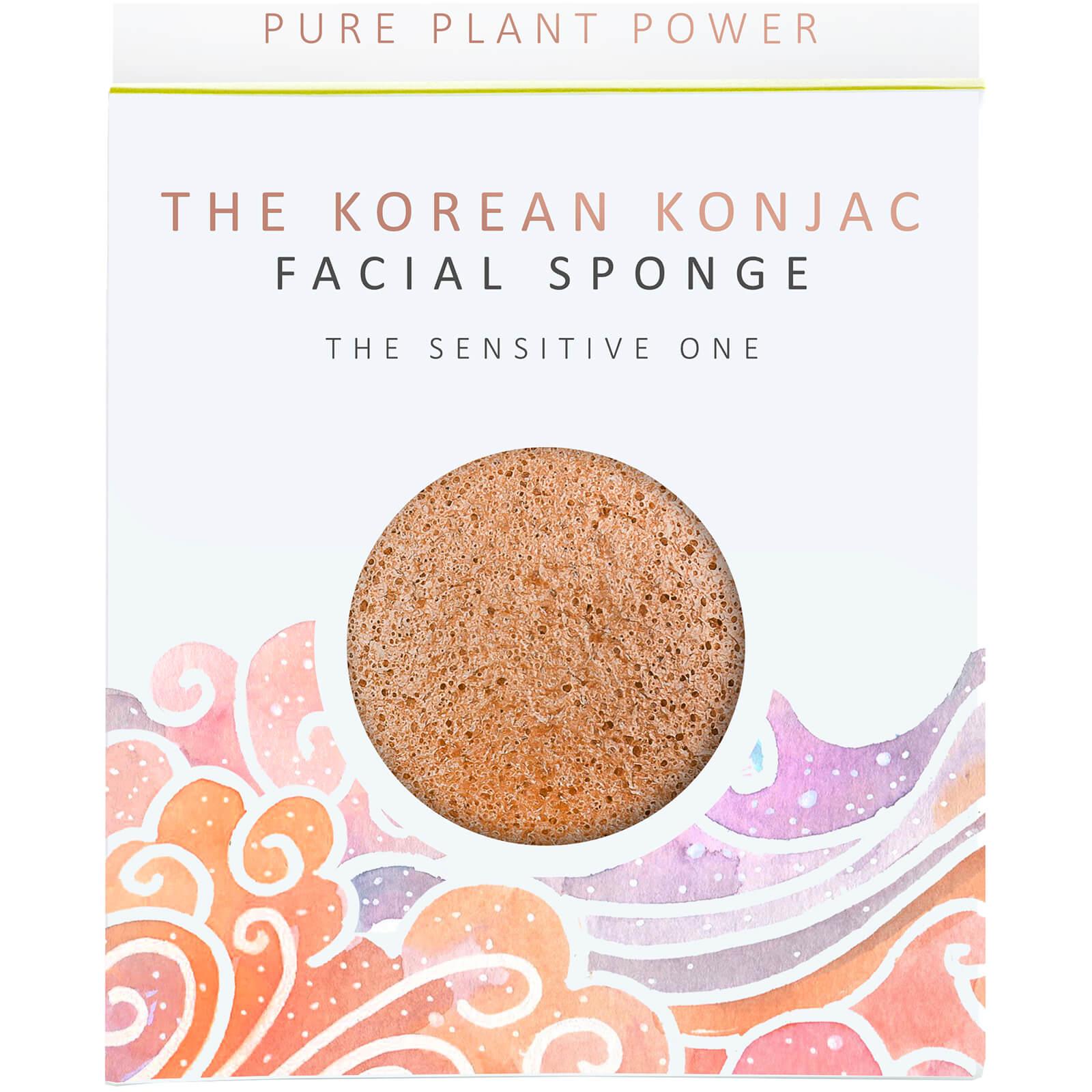 The Konjac Sponge Company Éponge pour le Visage The Elements Air The Konjac Sponge Company 30g – Camomille Apaisante/Argile Rose