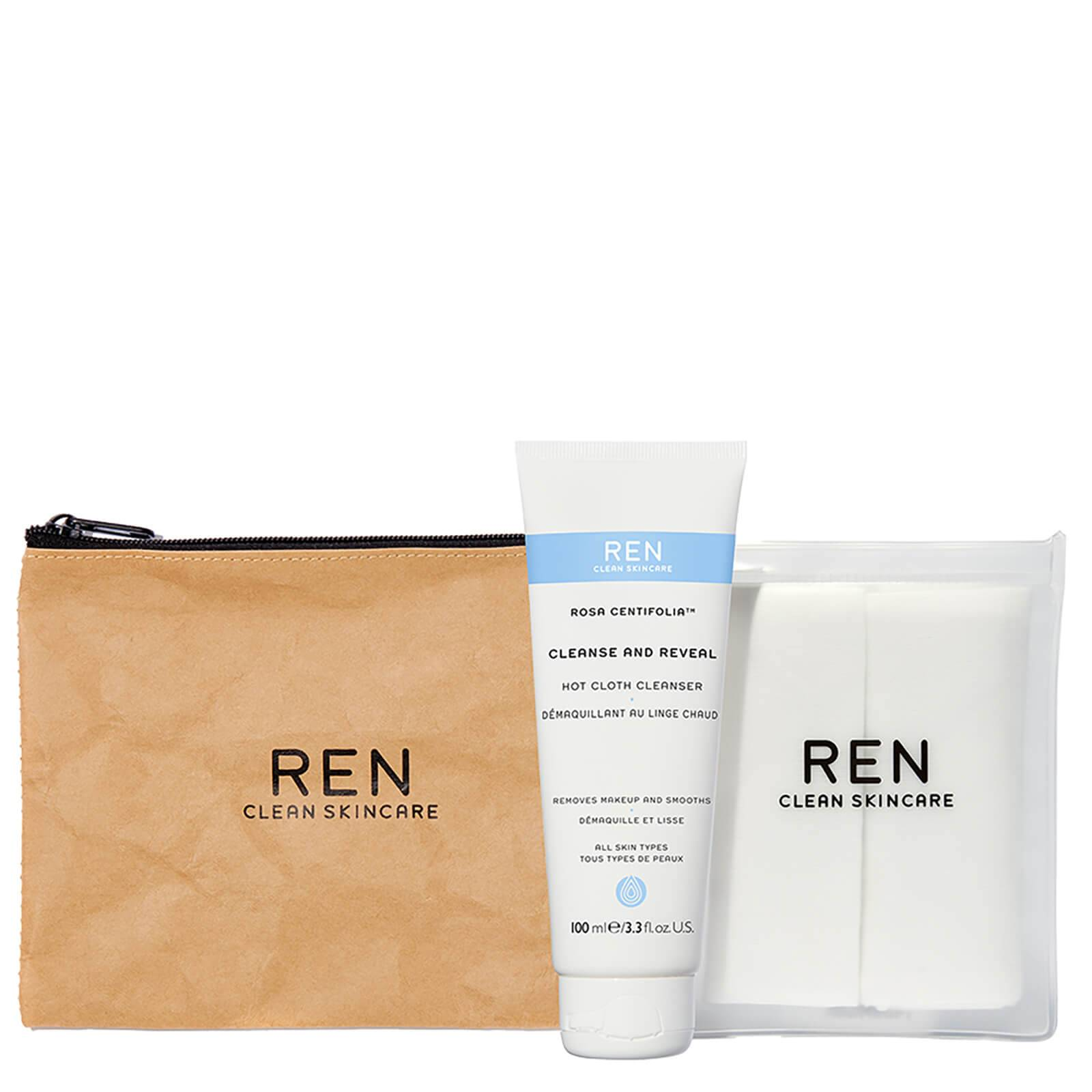 REN Clean Skincare REN Cleanse and Reveal Hot Cloth Cleanser Kit