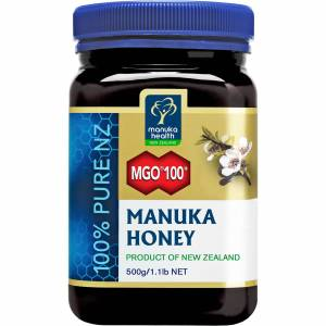 Manuka Health New Zealand Ltd Miel de Manuka Pur MGO 100+ Manuka Health - 500g - Publicité