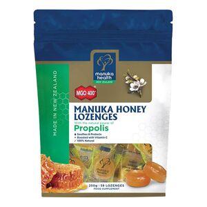 Manuka Health New Zealand Ltd MGO 400+ Manuka Honey Lozenges with Propolis - 58 Lozenges - Publicité
