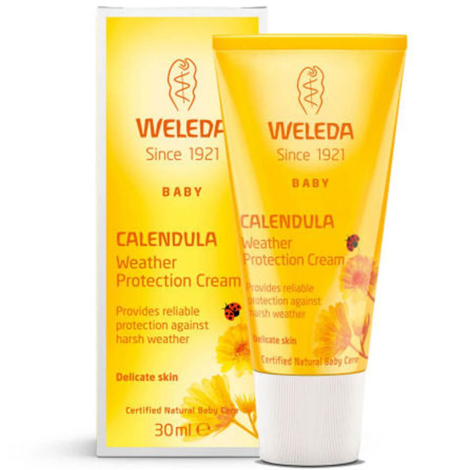 Weleda Crème de protection météoau calendula Weleda Baby(30ml)