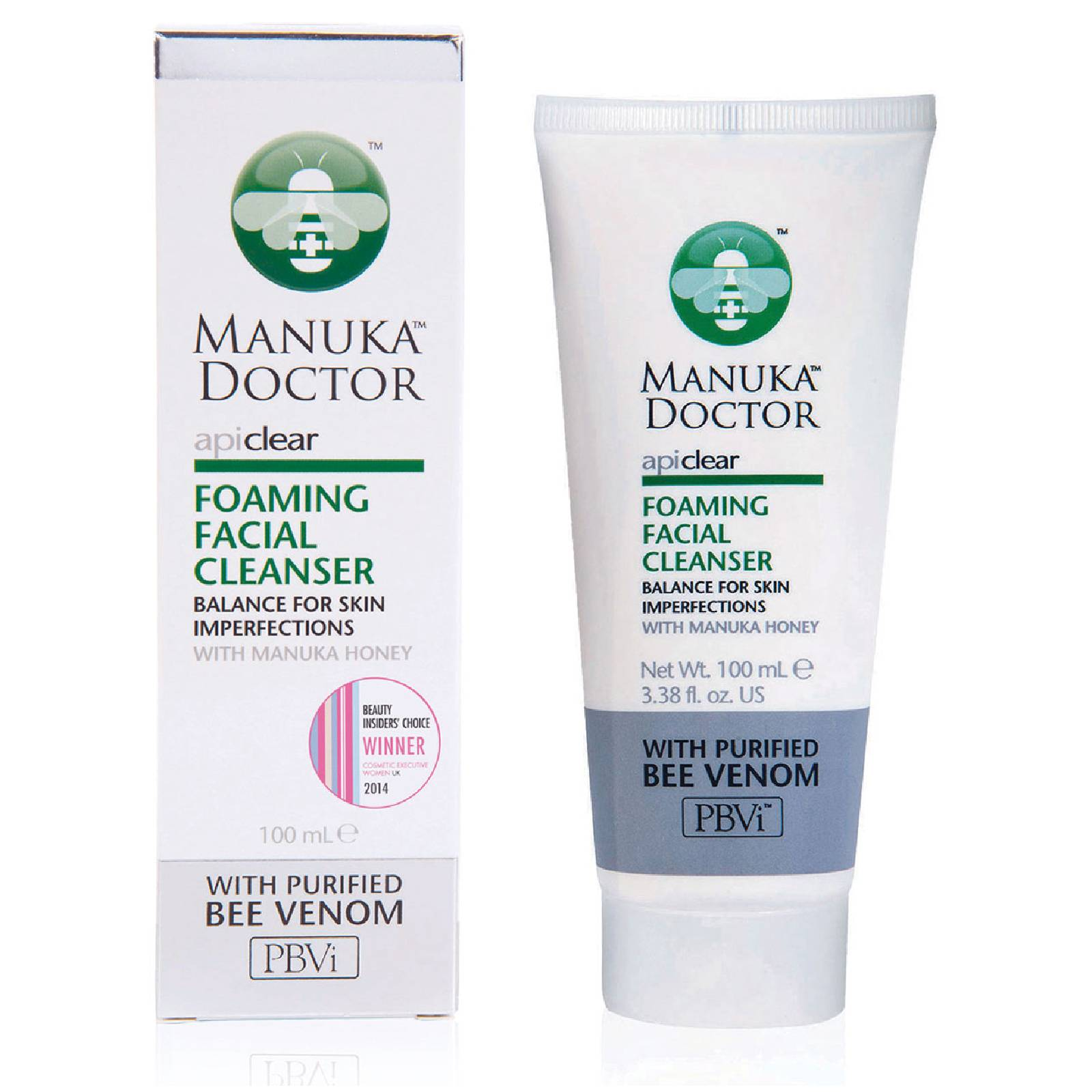 Manuka Doctor Foaming Facial Cleanser ApiClear Manuka Doctor 100 ml