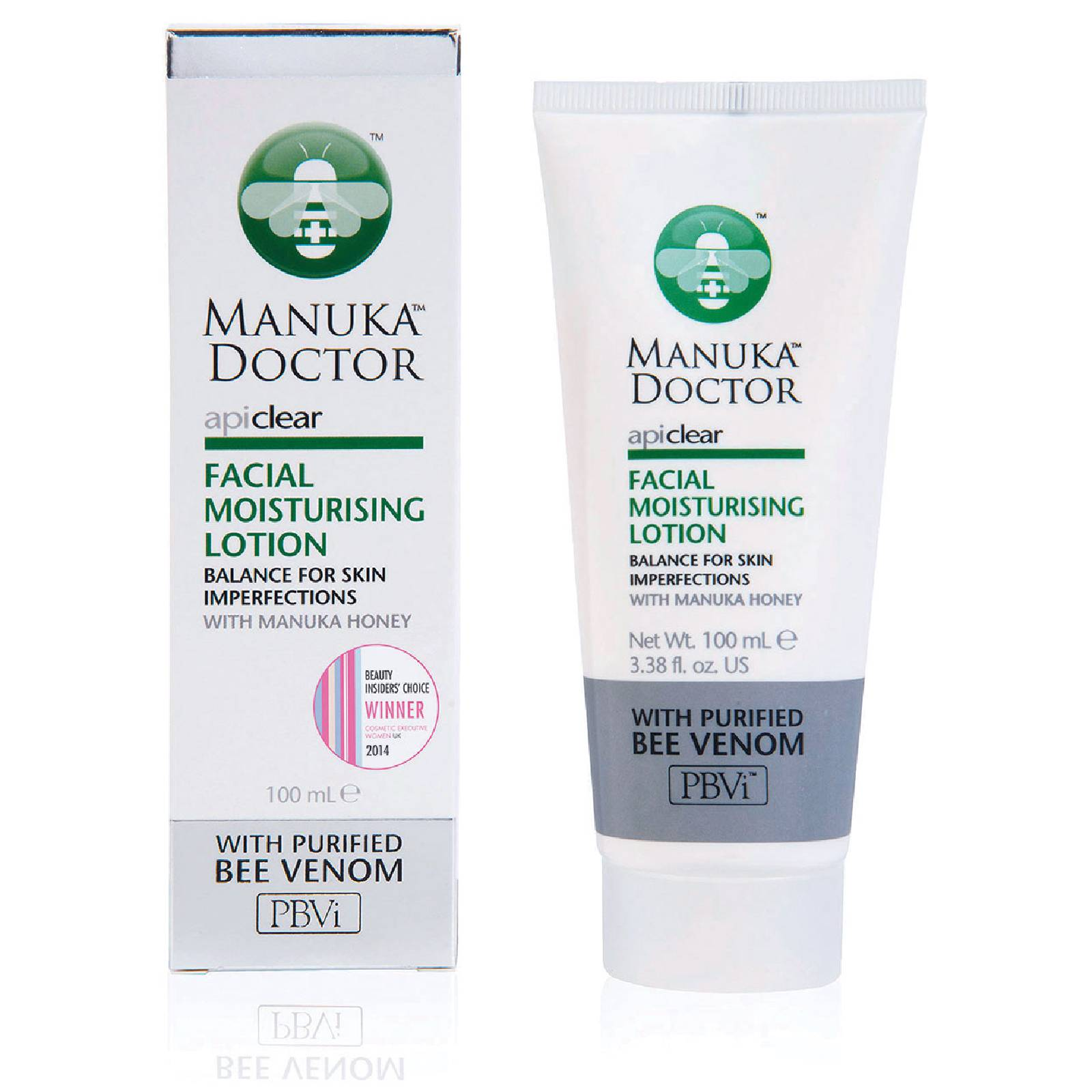 Manuka Doctor Lotion Hydratante Visage ApiClearManuka Doctor 100 ml