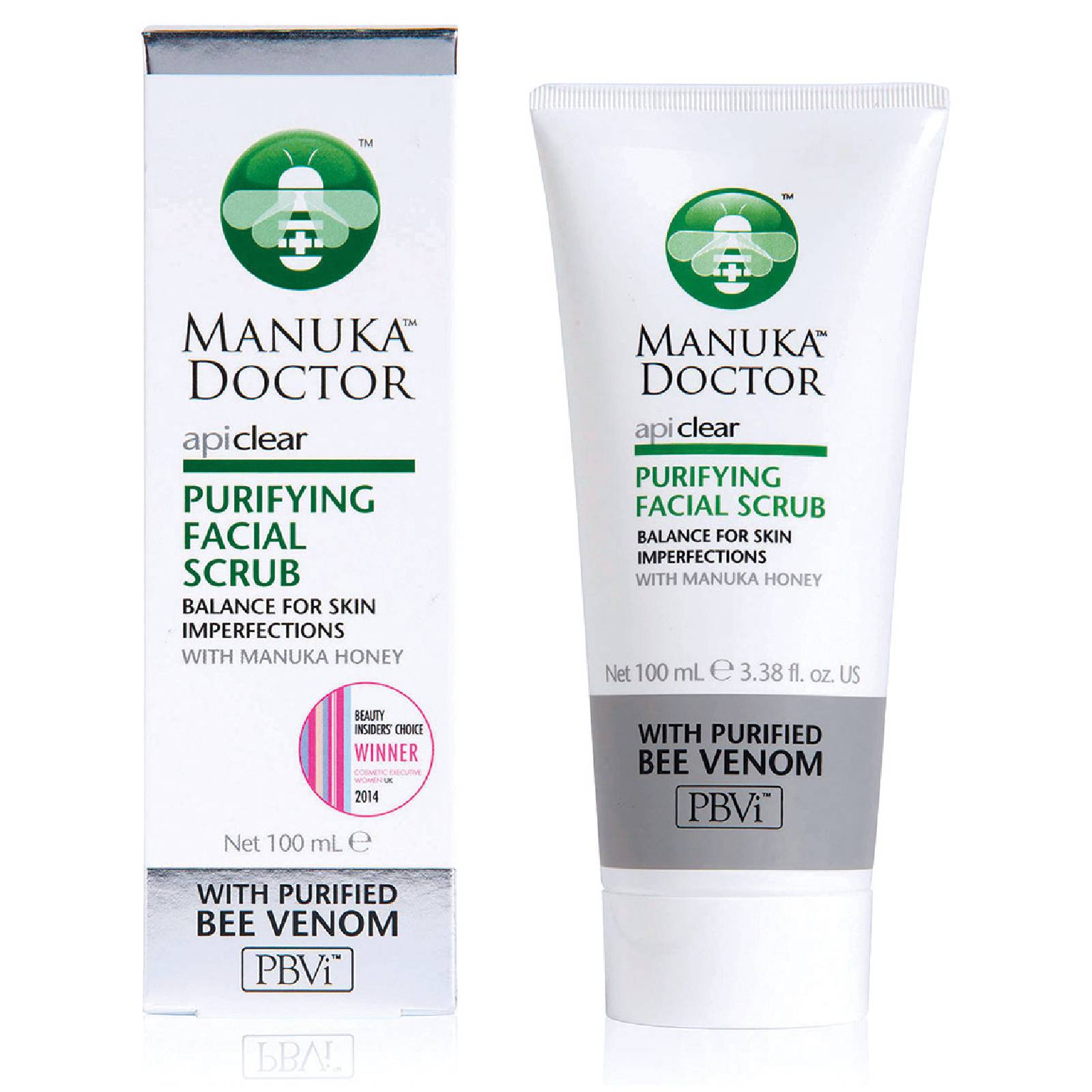 Manuka Doctor Exfoliant FacialPurifyingApiClear Manuka Doctor100 ml